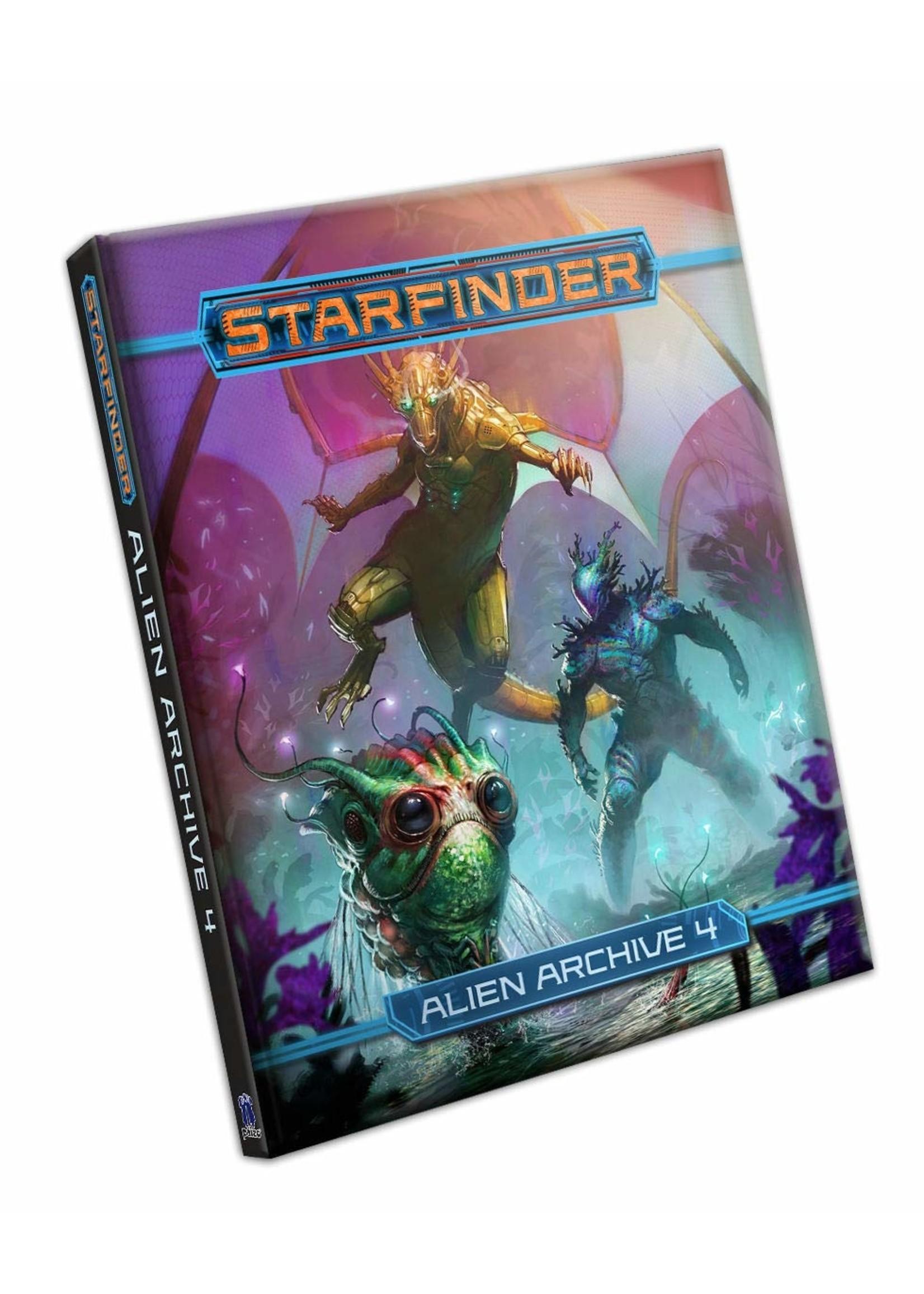 Starfinder RPG: Alien Archive 4 Hardcover