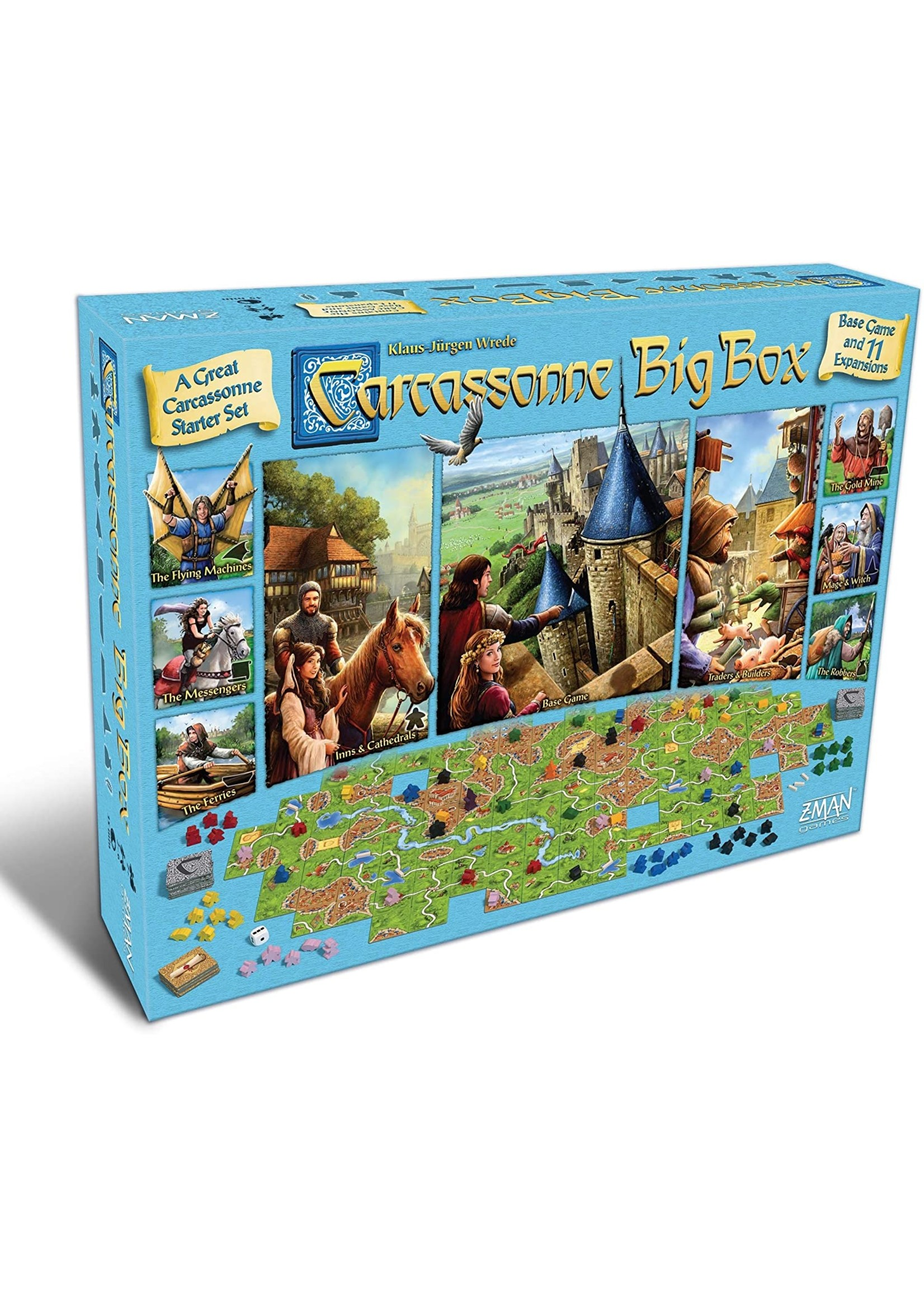 Carcassonne: Big Box 2017