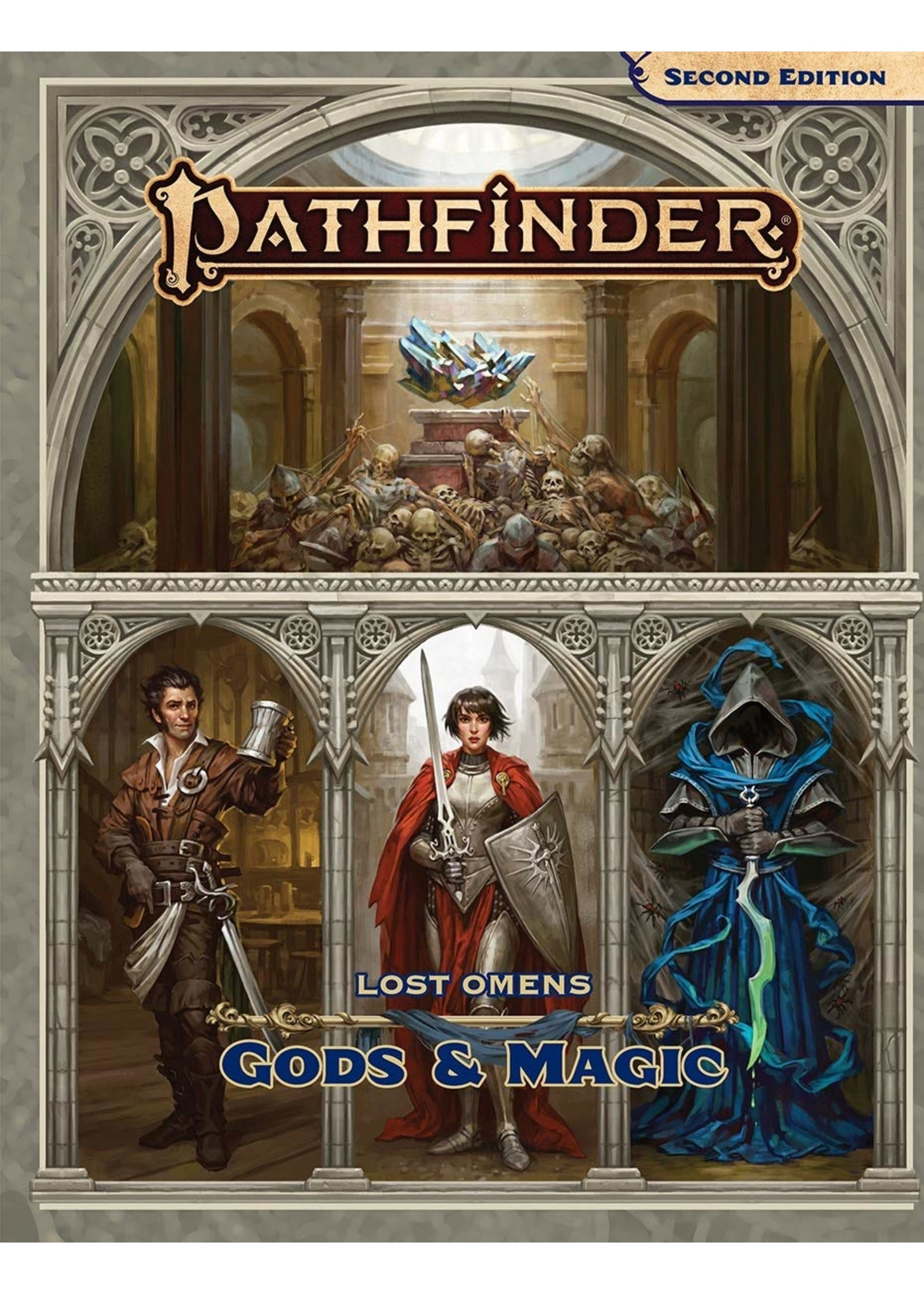 Pathfinder RPG: Lost Omens - Gods and Magic Hardcover (P2)