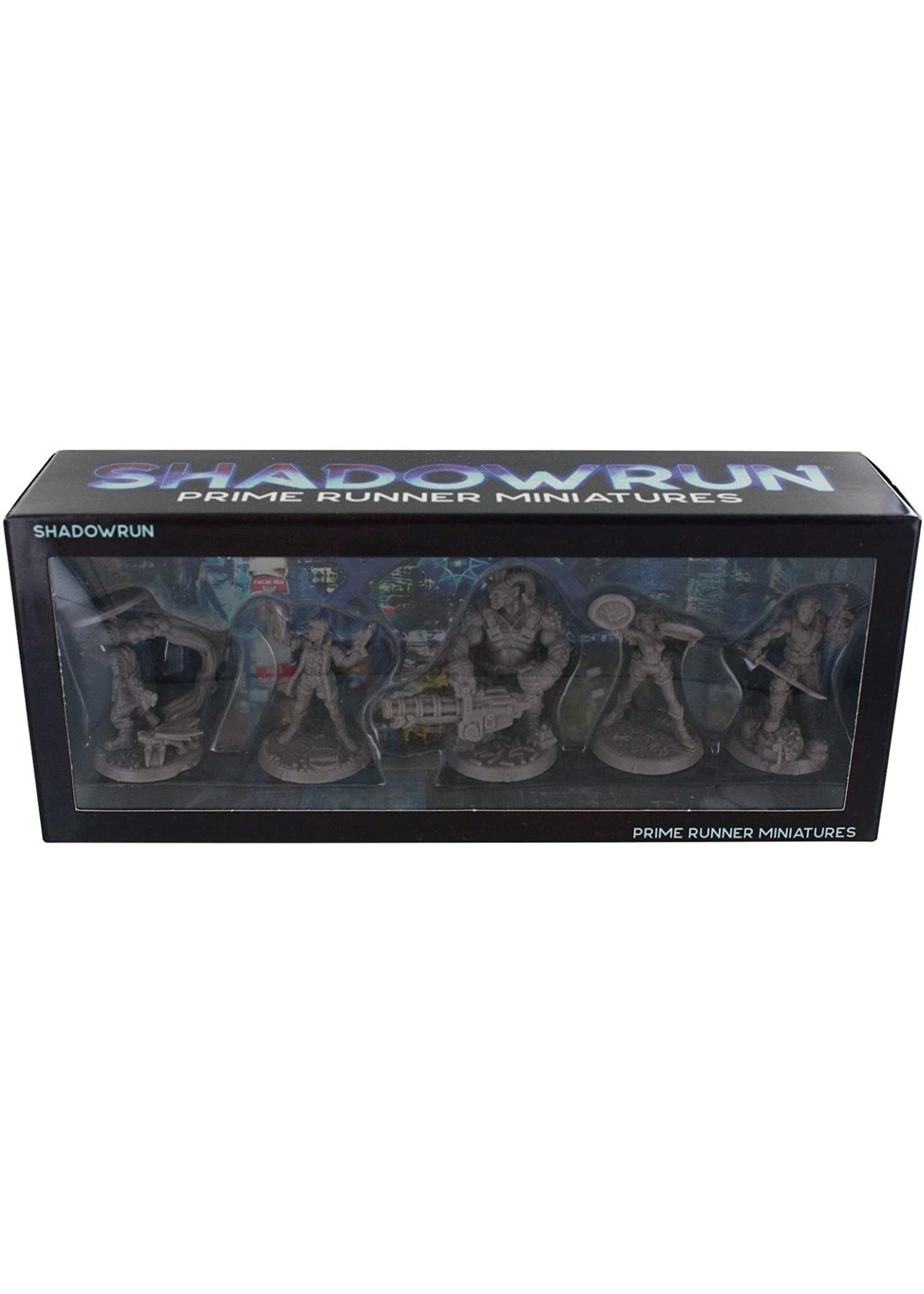 Shadowrun RPG: 6th Edition Prime Runner Miniatures