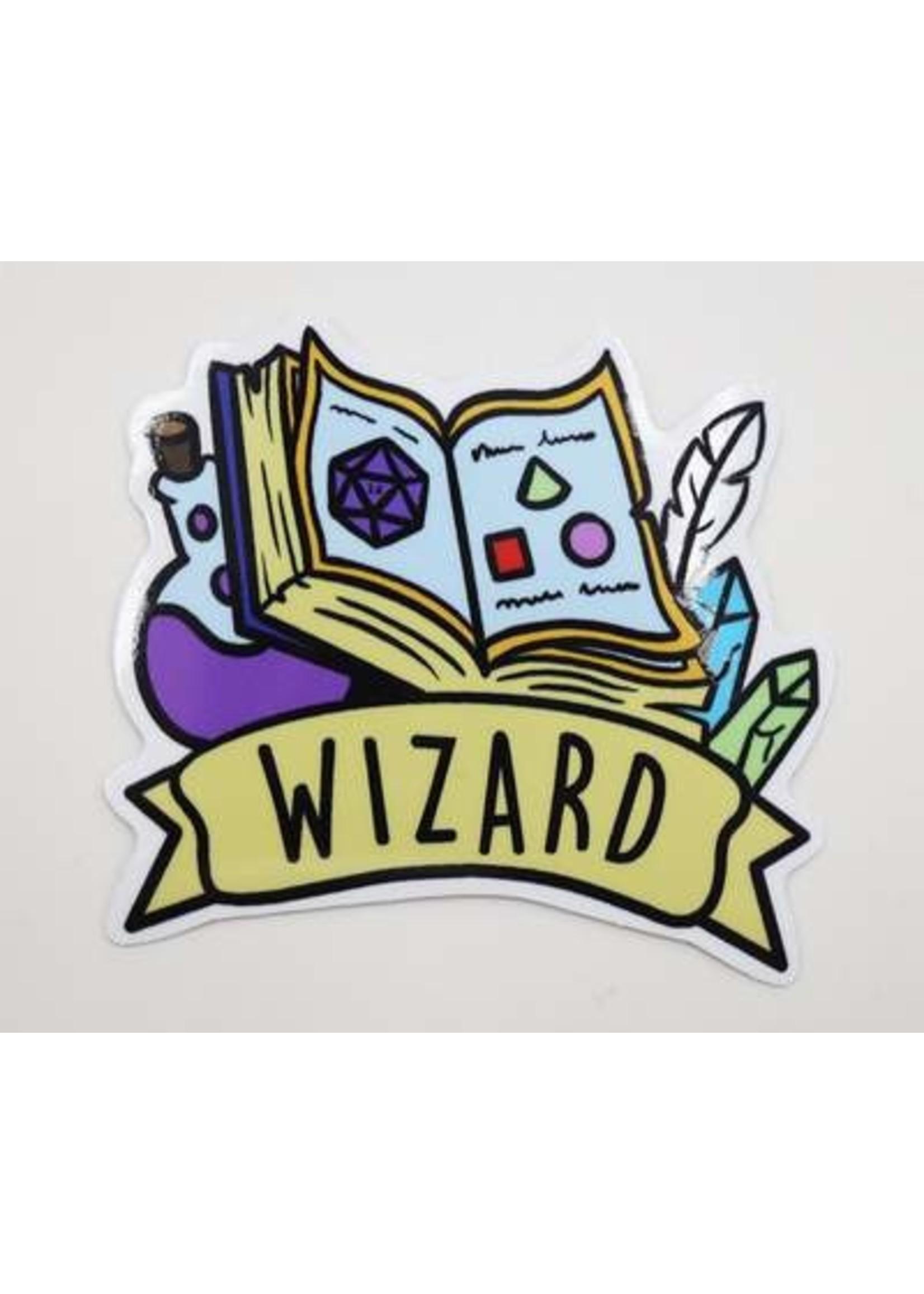 Banner Class Sticker: Wizard
