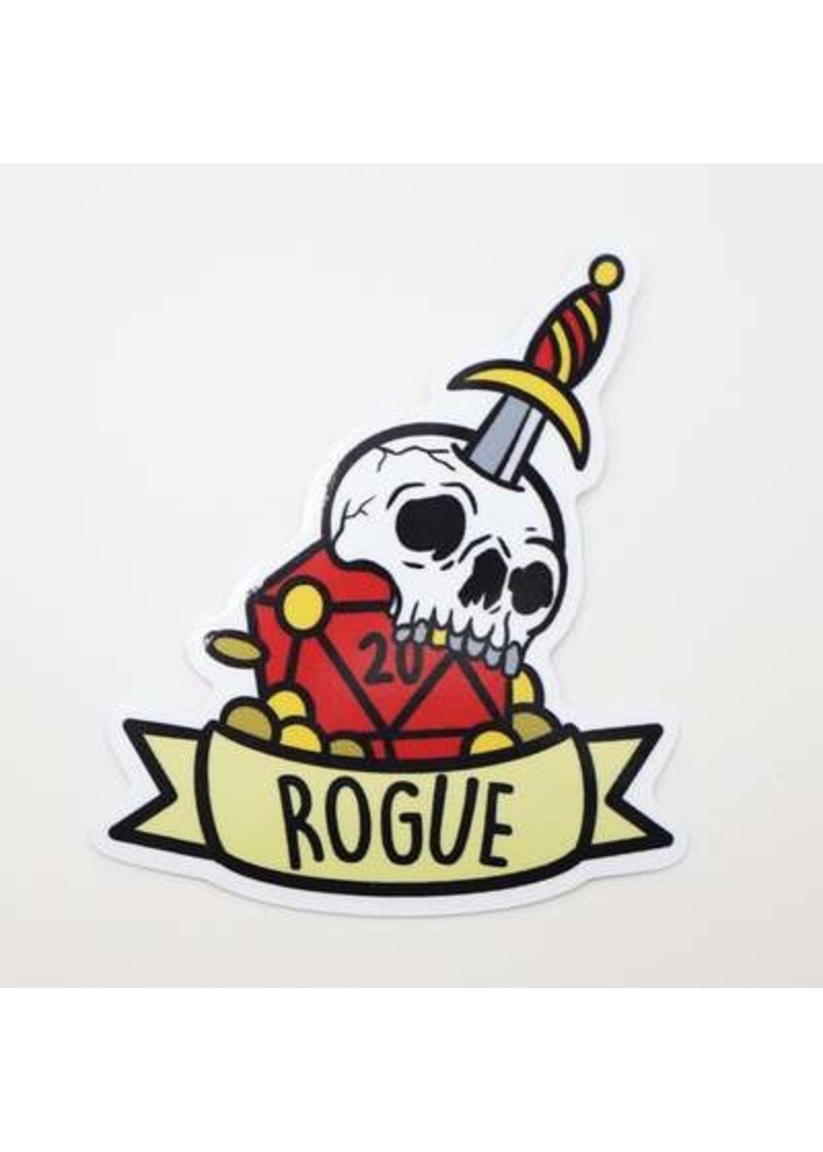 Banner Class Sticker: Rogue