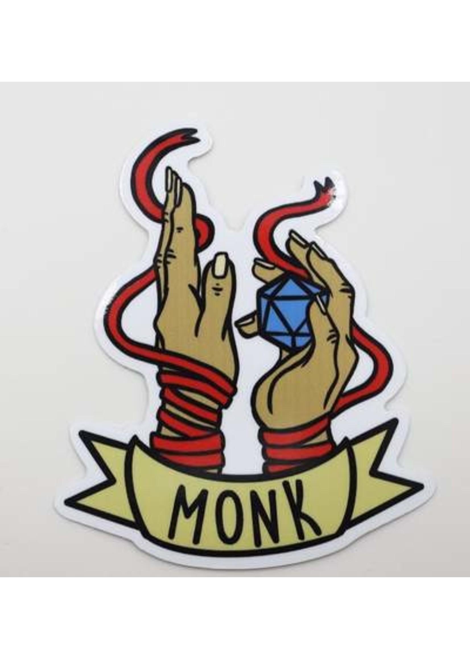 Banner Class Sticker: Monk