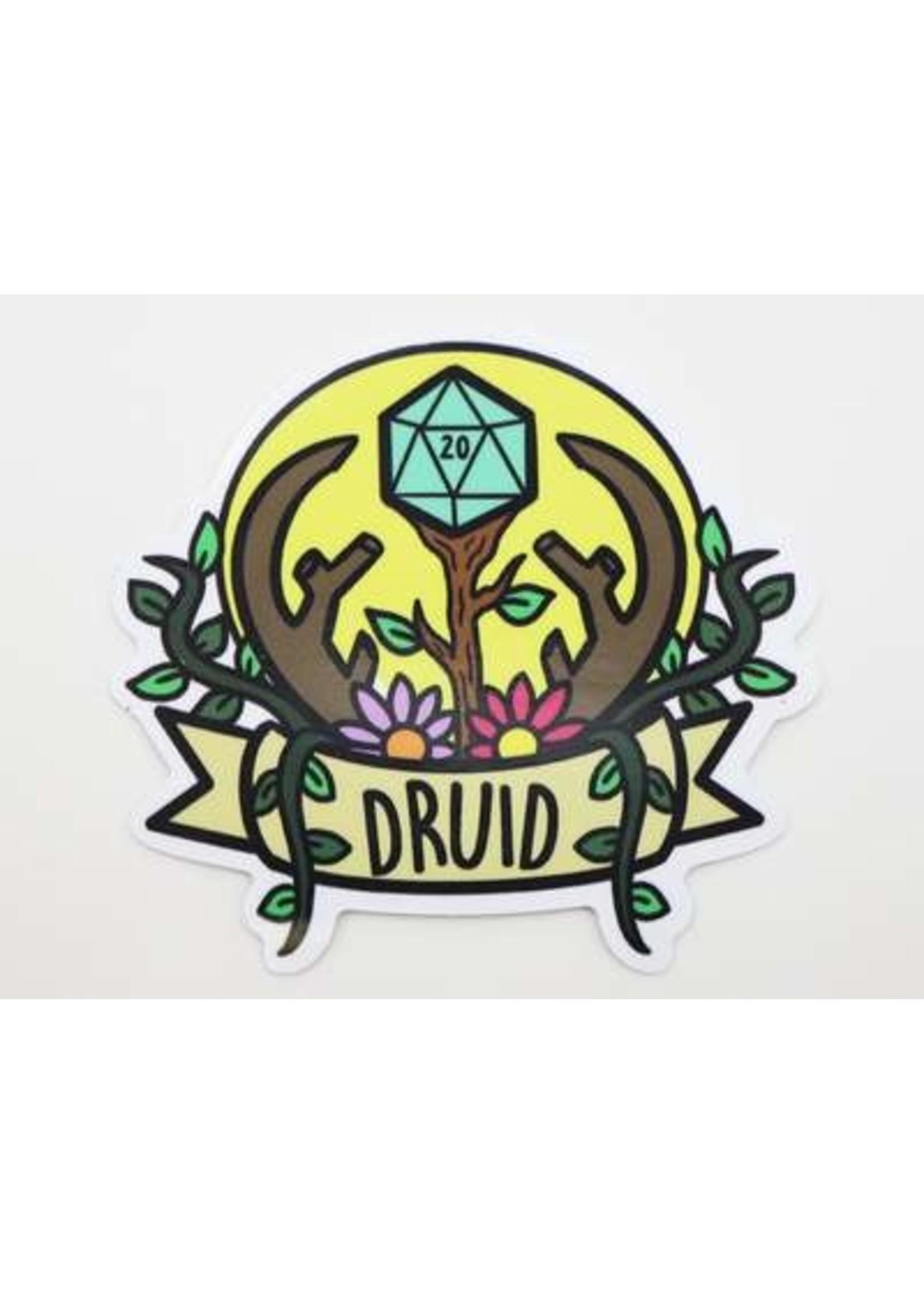 Banner Class Sticker: Druid
