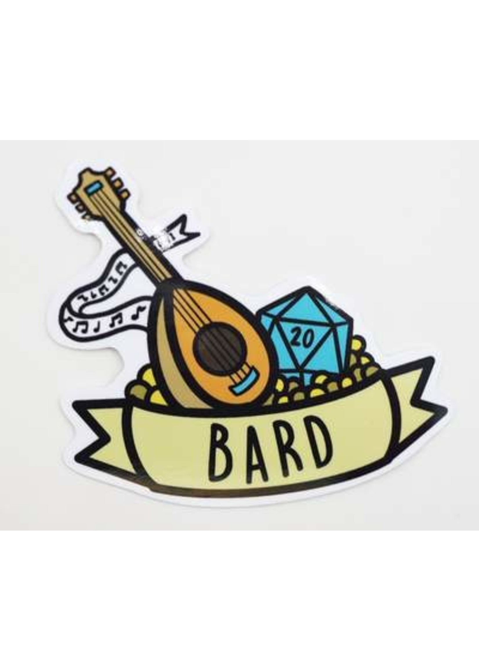Banner Class Sticker: Bard