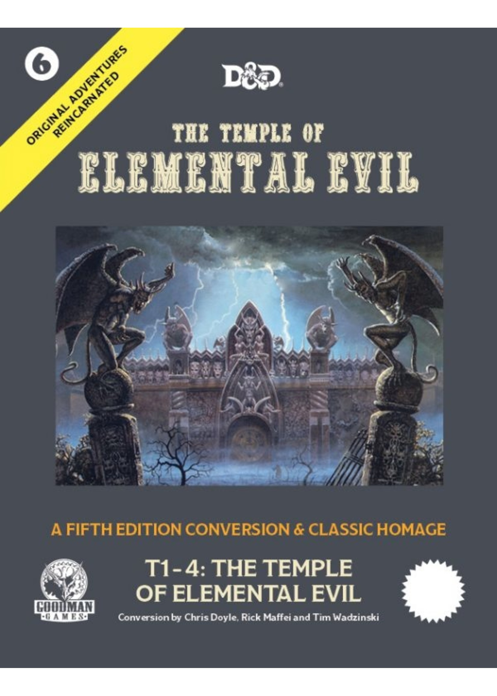 Original Adventures Reincarnated #6: The Temple of Elemental Evil (Pre-Order)