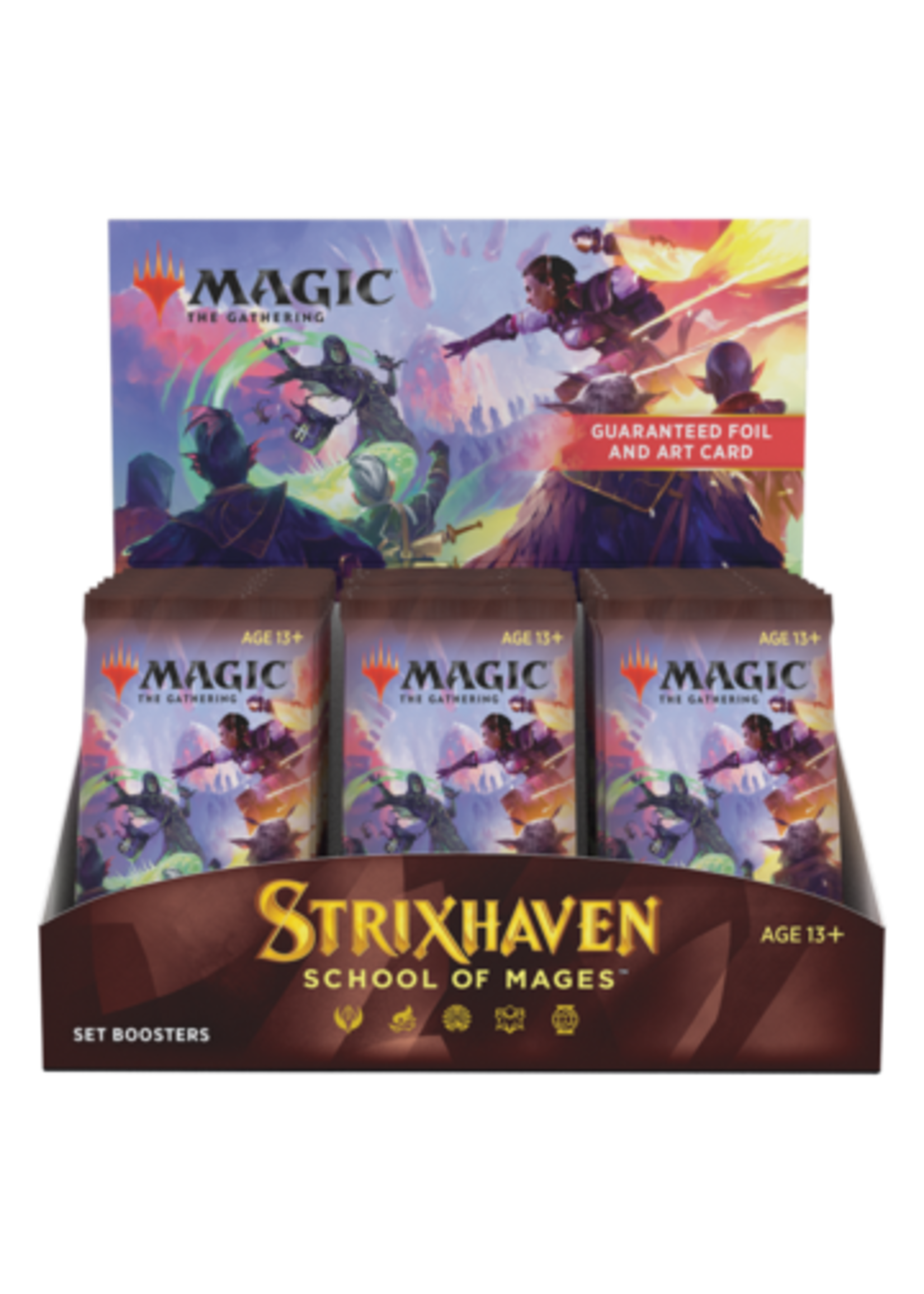 Magic the Gathering CCG: Strixhaven Set Booster Display (30) (Pre-Order)