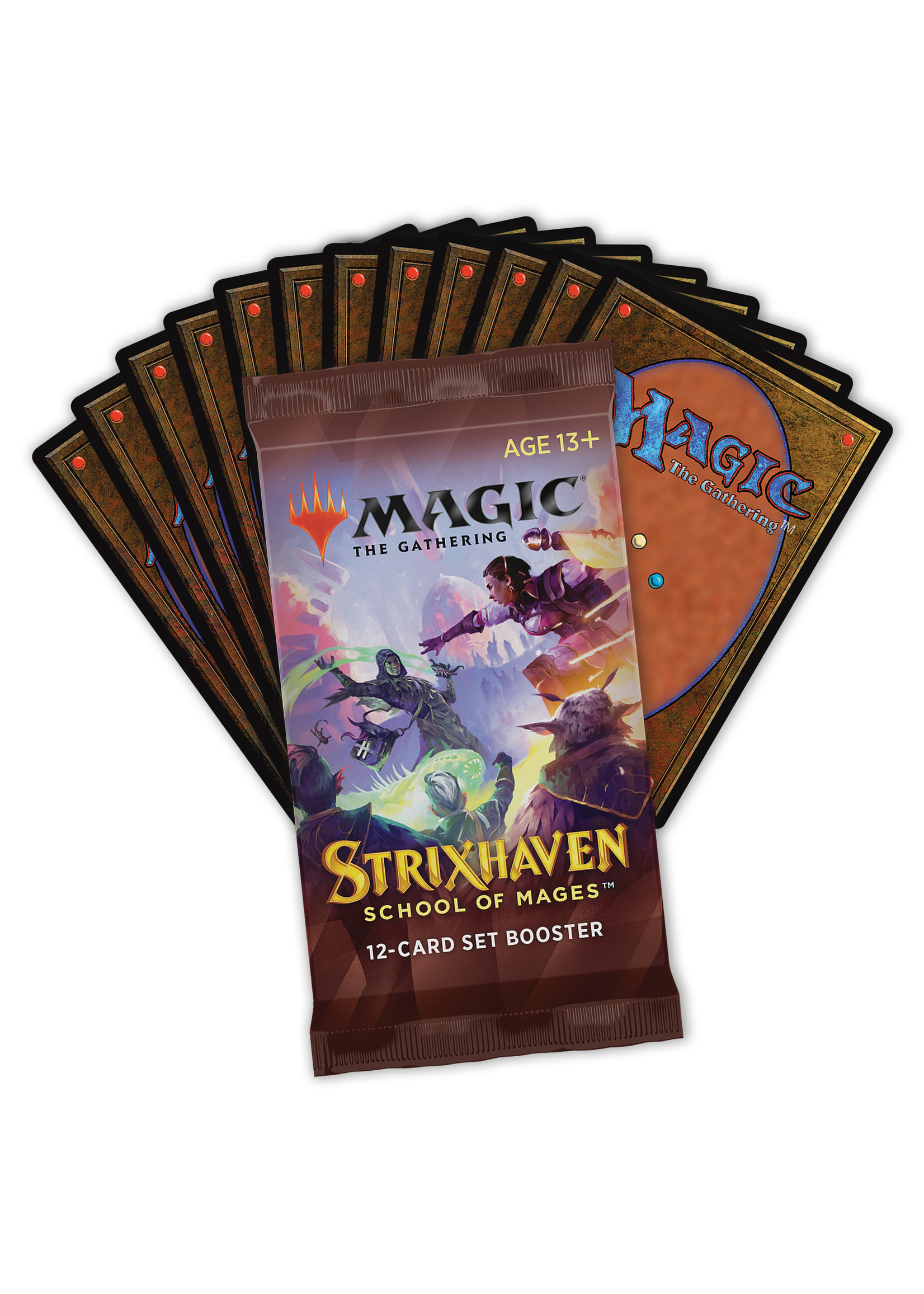 Magic the Gathering CCG: Strixhaven Set Booster (Pre-Order)
