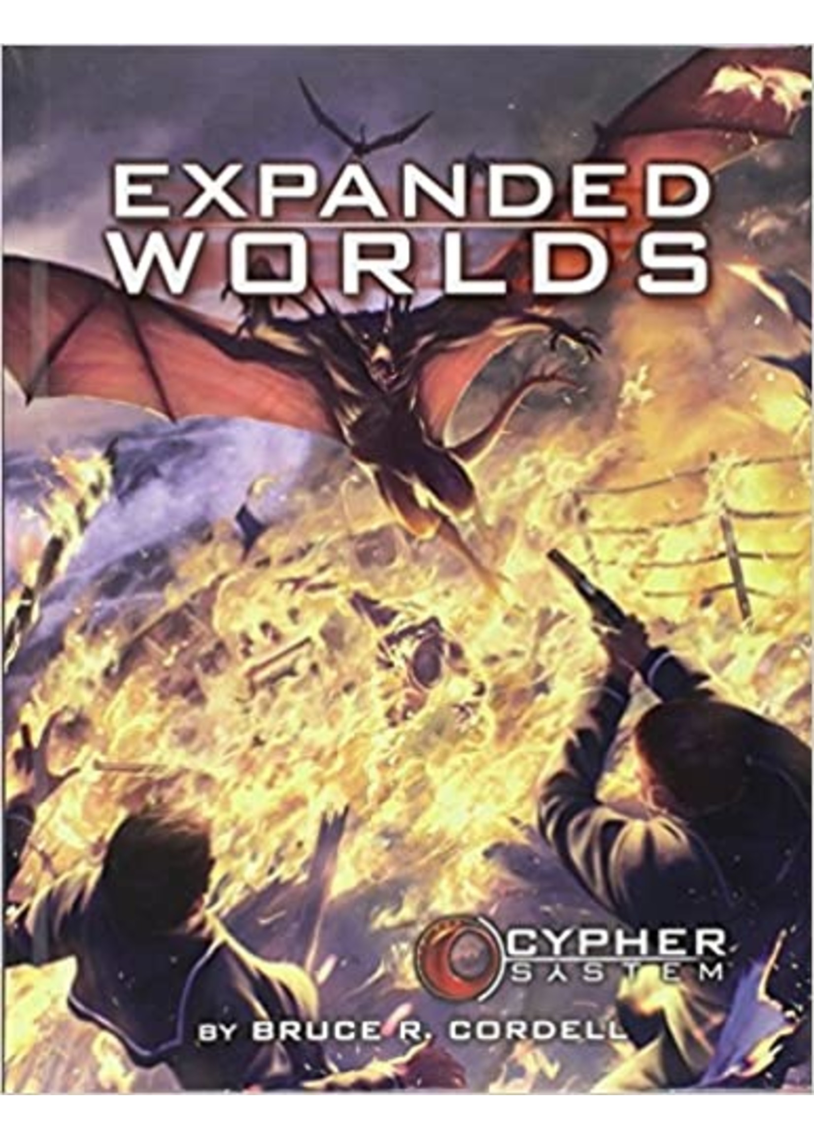 Cypher System RPG: Expanded Worlds Hardcover