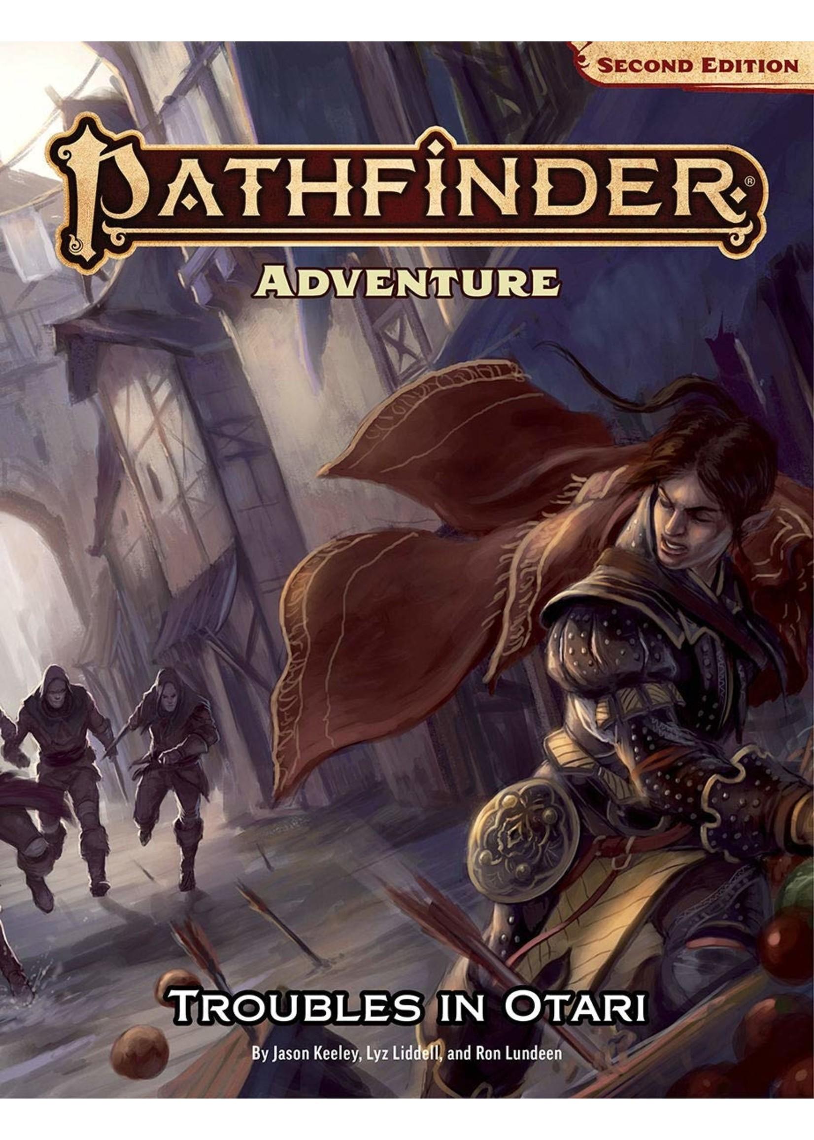 Pathfinder RPG: Adventure - Troubles in Otari (P2)