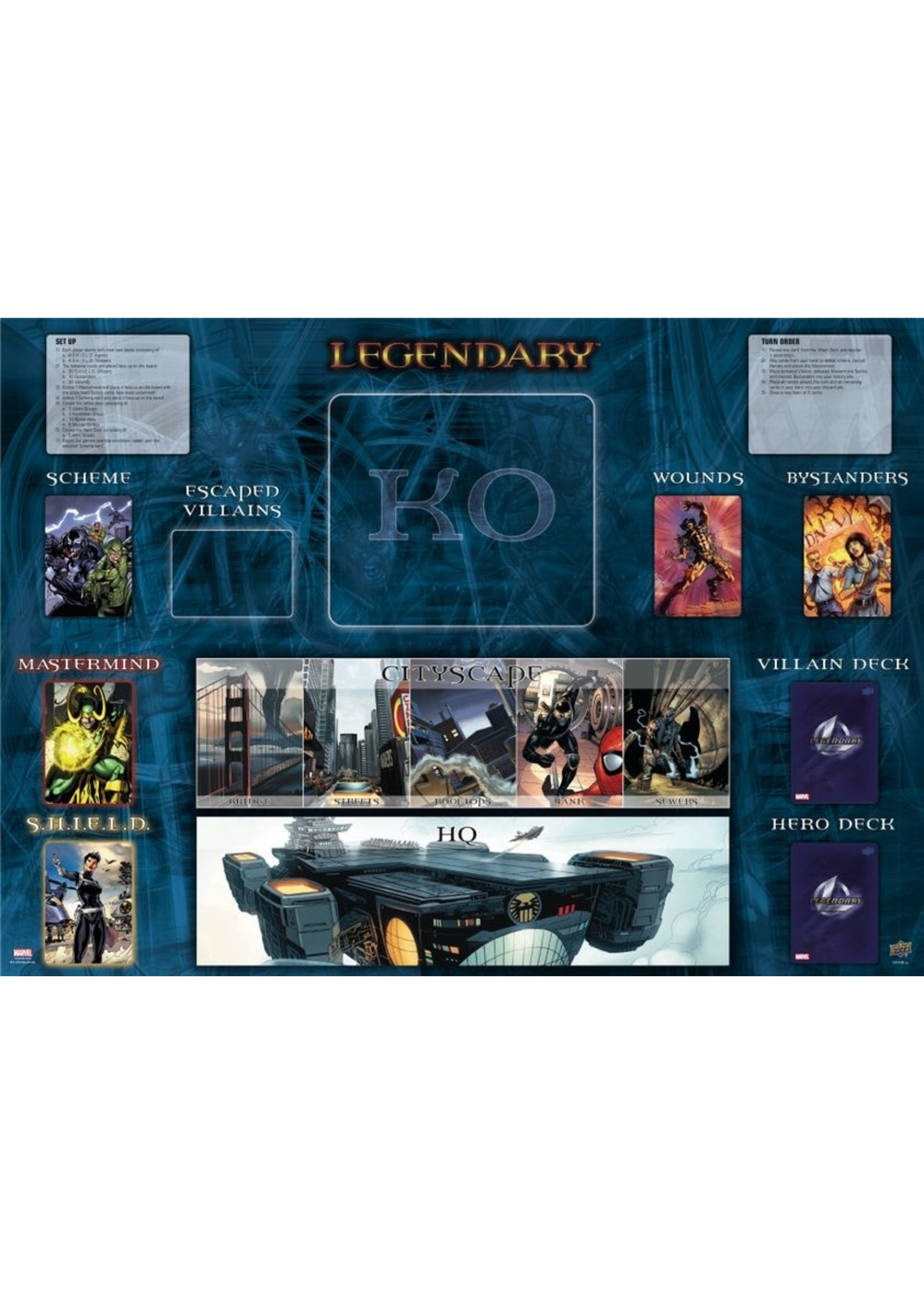 Legendary DBG: Marvel - Core Set