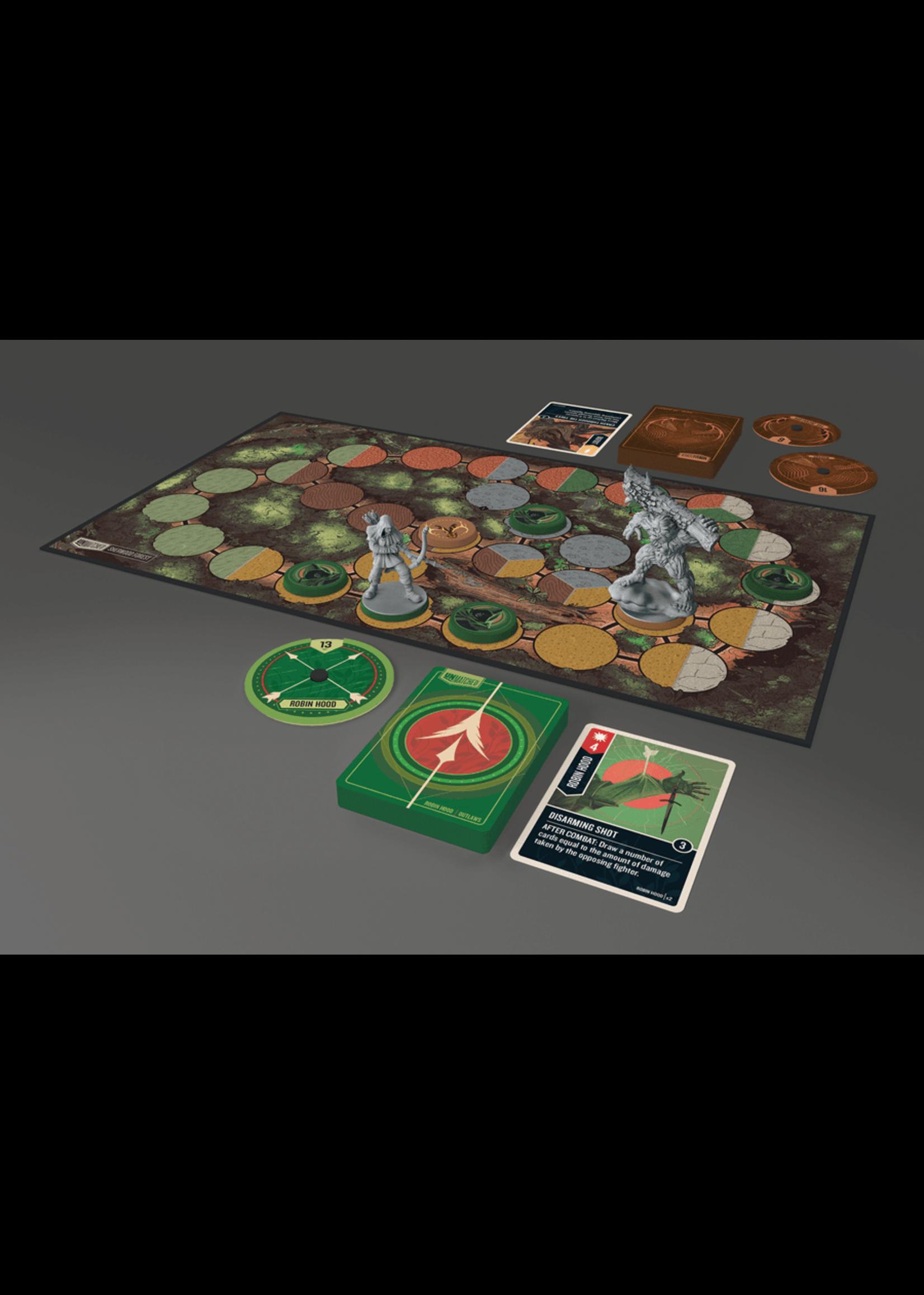 Unmatched: Battle of Legends Vol. 2 - Robin Hood vs. Bigfoot