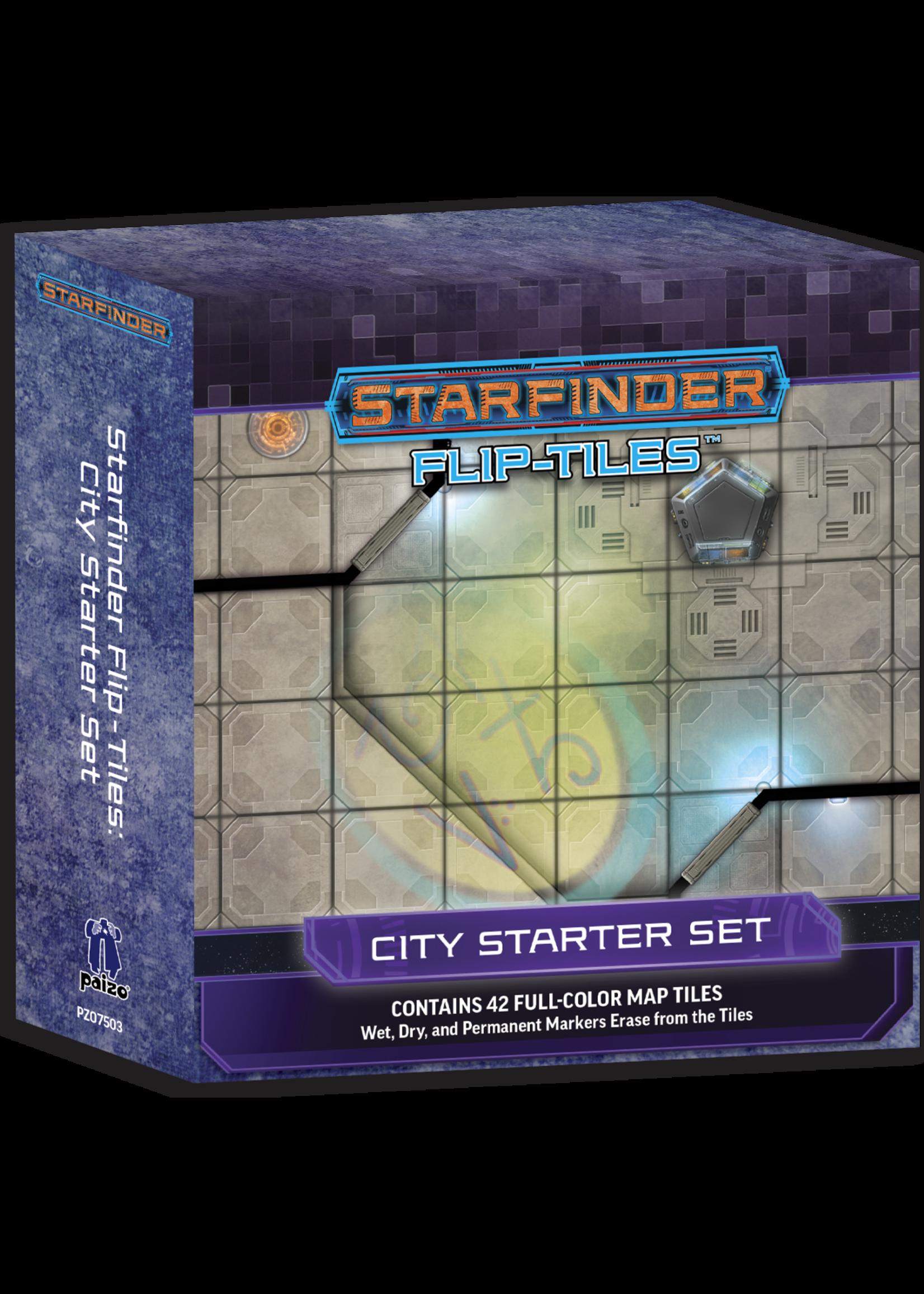 Starfinder RPG: Flip-Tiles - City Starter Set
