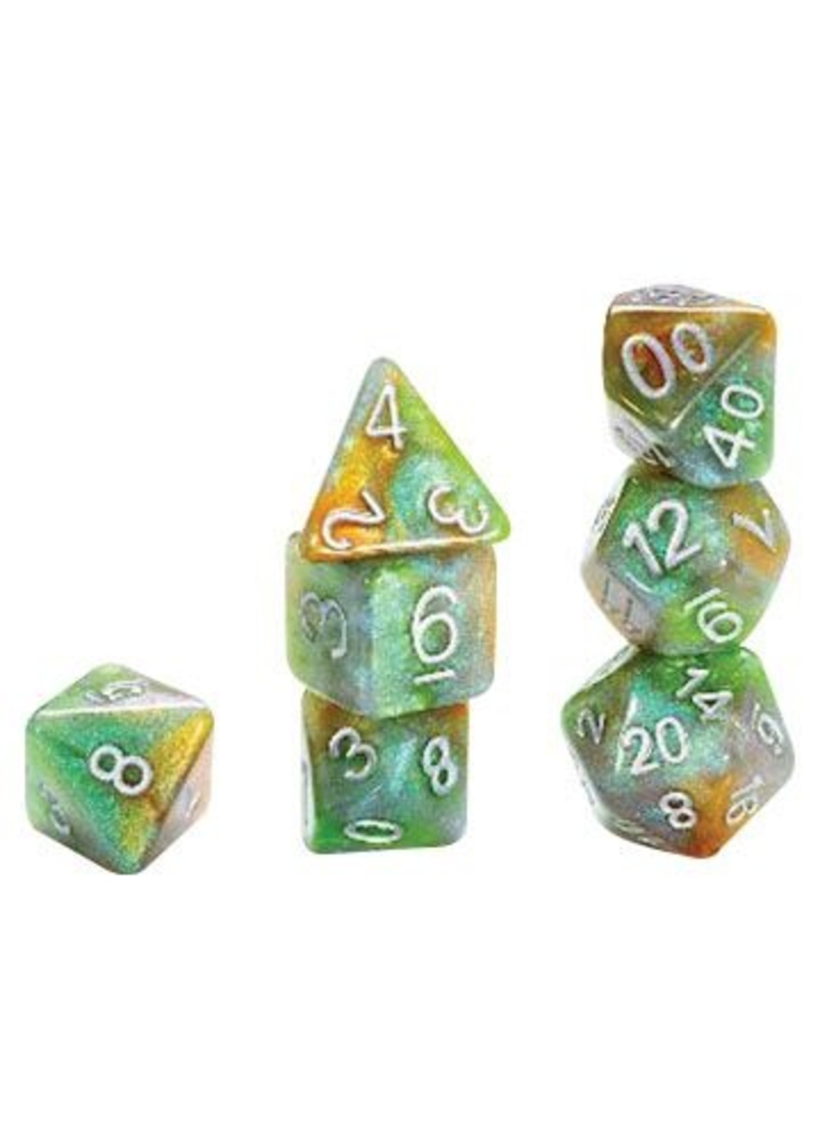 Aether Dice: Ork York (7 Polyhedral Dice Set)