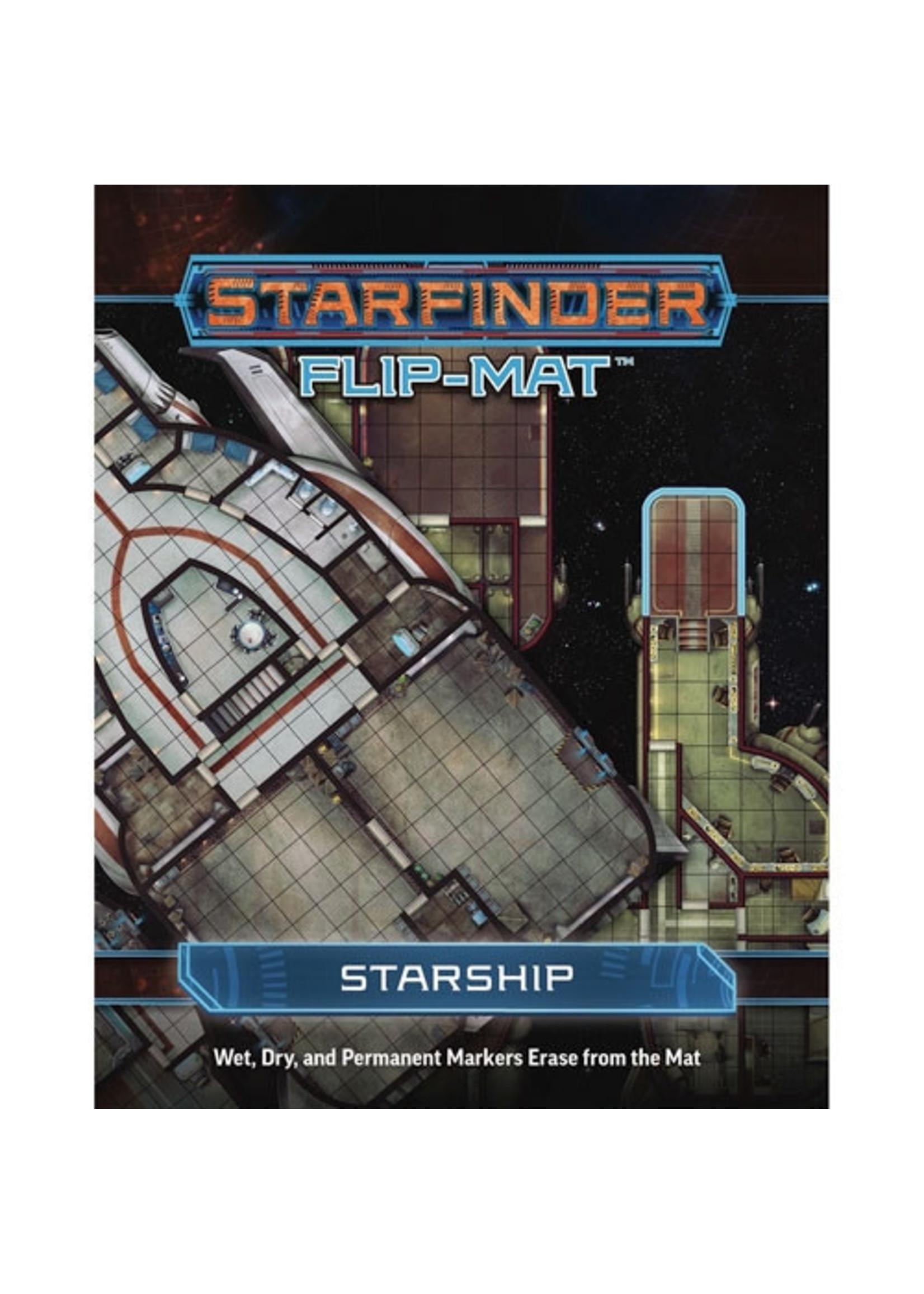 Starfinder RPG: Flip-Mat - Starship