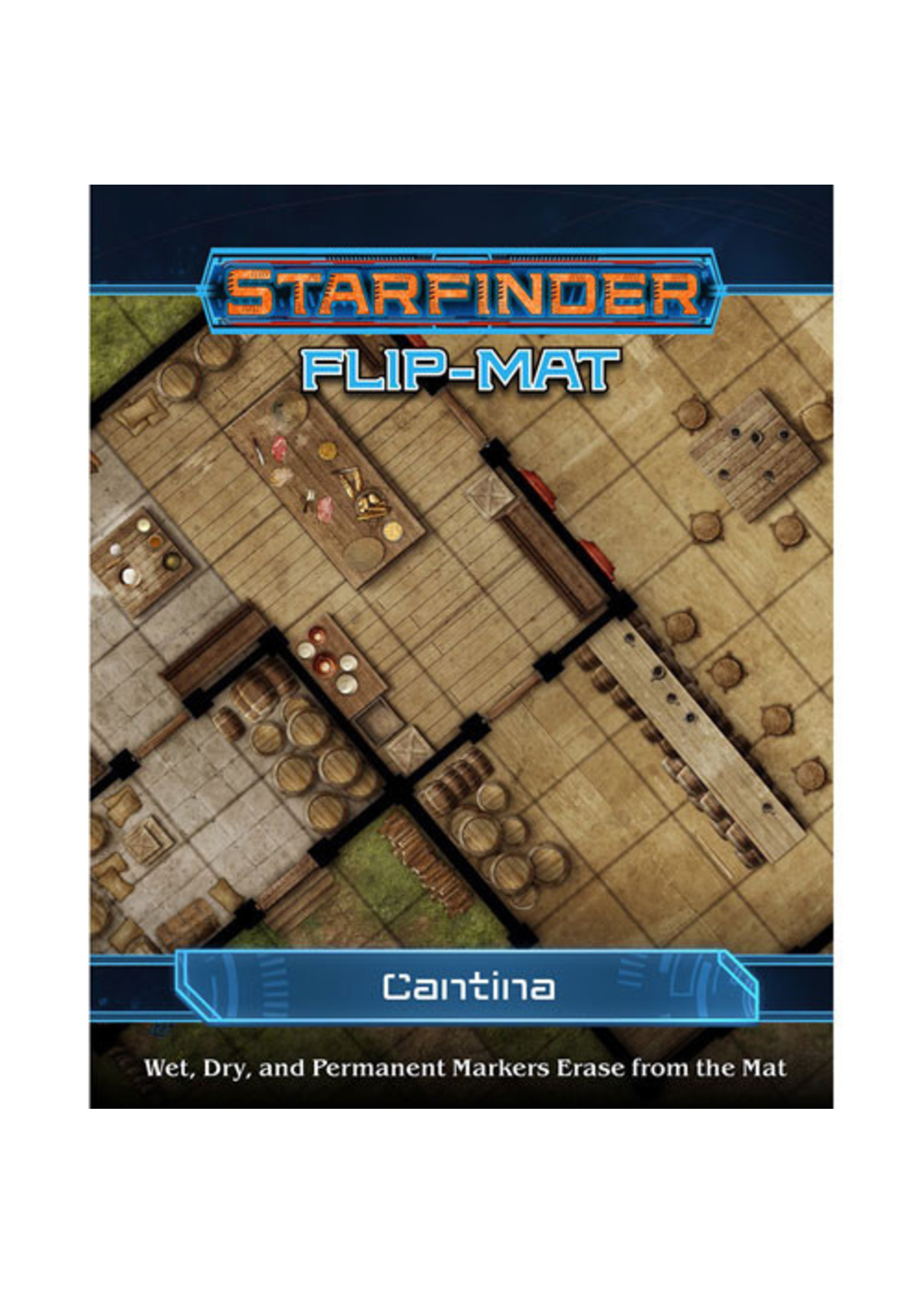 Starfinder RPG: Flip-Mat - Cantina