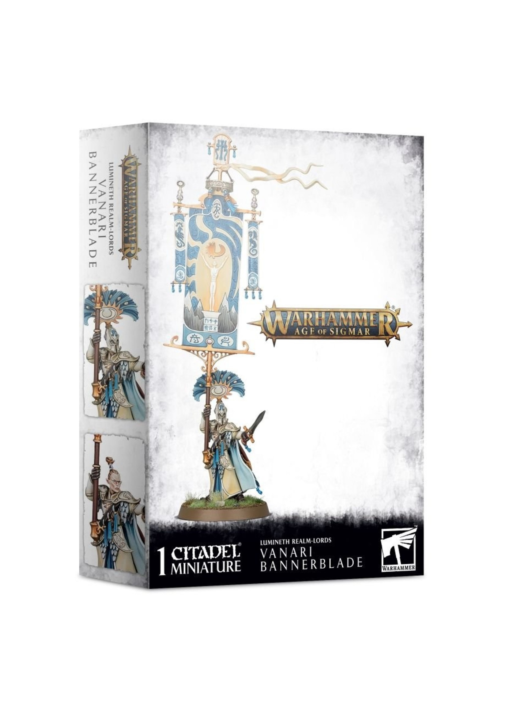 Warhammer Age of Sigmar: Lumineth Realm-Lords Vanari Bannerblade