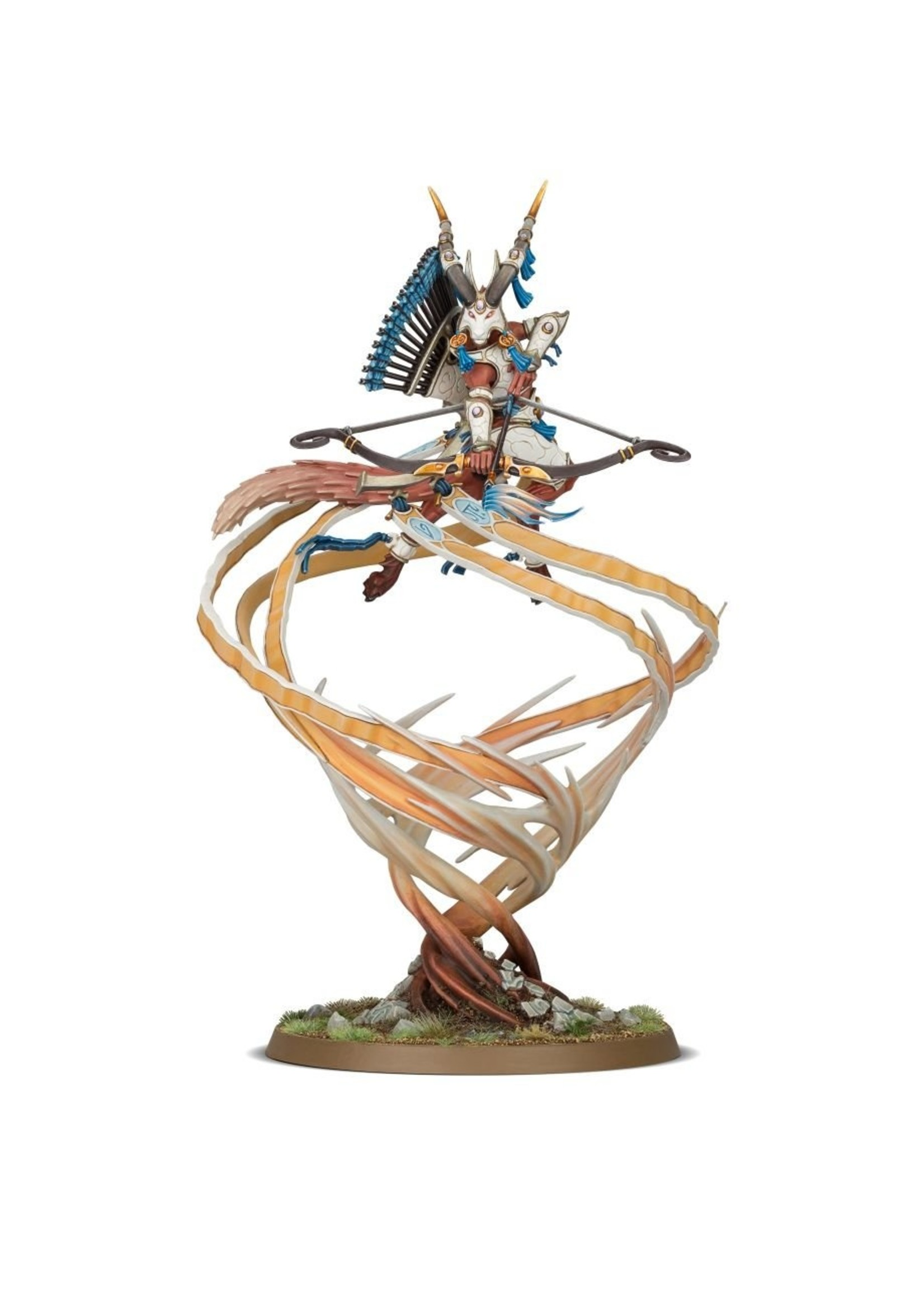Warhammer Age of Sigmar: Lumineth Realm-Lords Sevireth Lord of the Seventh Wind