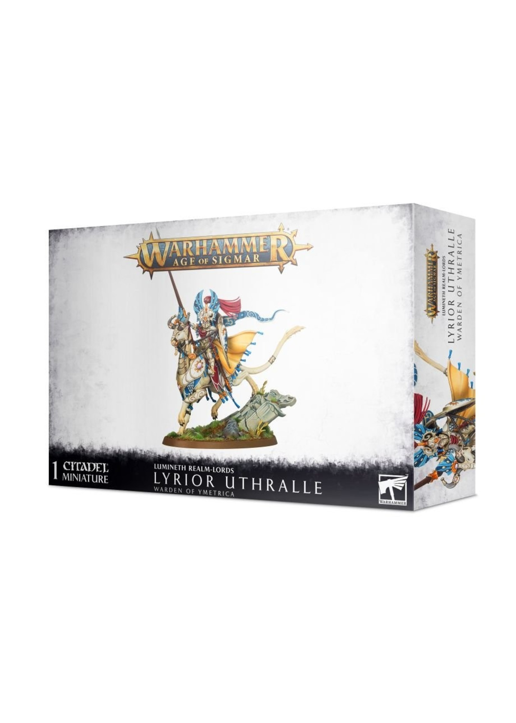 Warhammer Age of Sigmar: Lumineth Realm-Lords Lyrior Uthralle Warden of Ymetrica