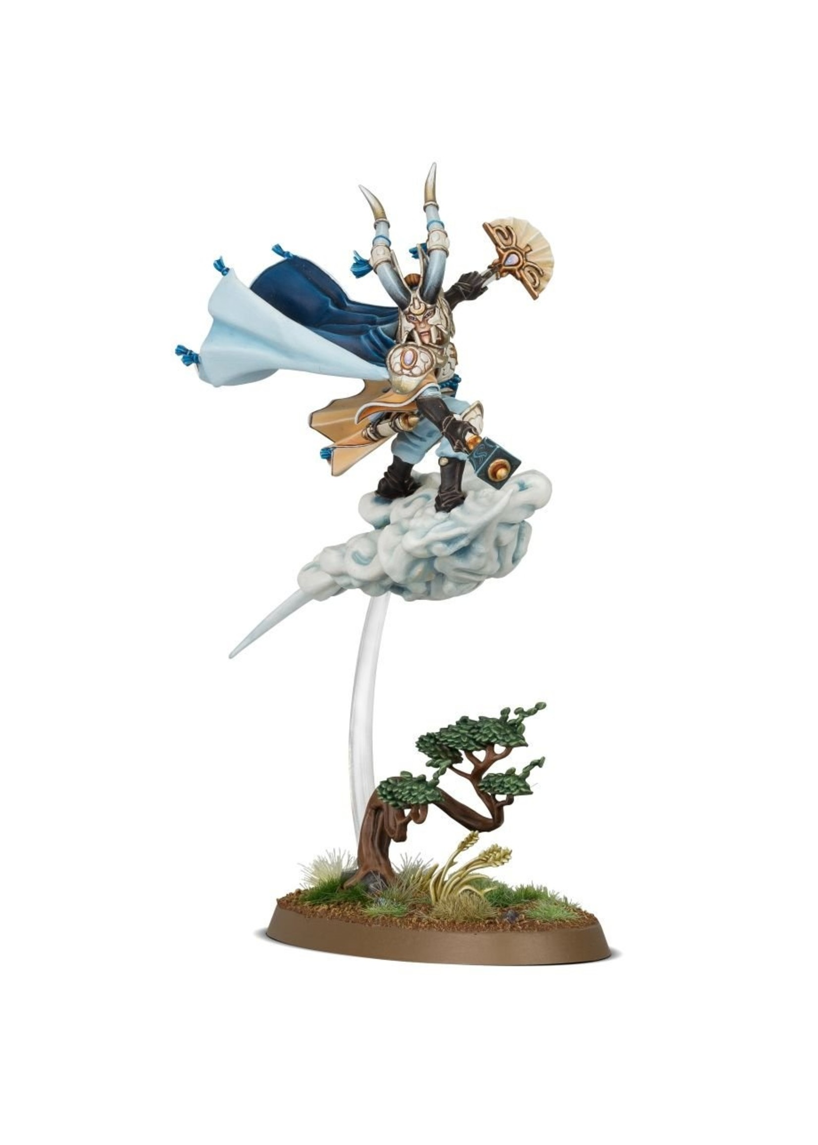 Warhammer Age of Sigmar: Lumineth Realm-Lords Hurakan Windmage