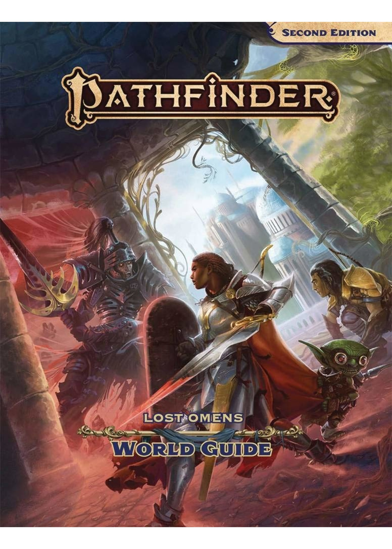 Pathfinder RPG: Lost Omens - World Guide Hardcover (P2)