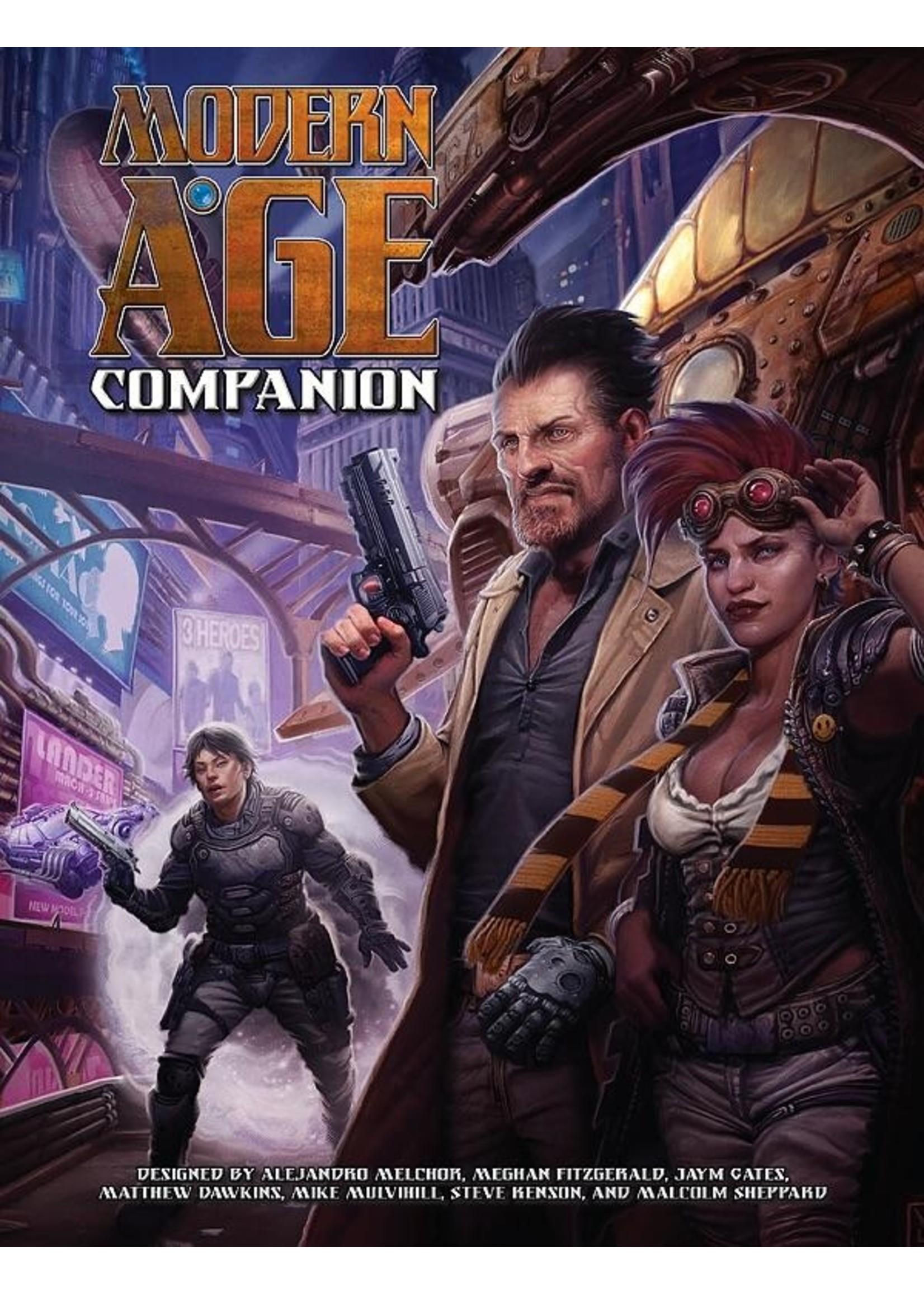 Modern AGE RPG: Companion