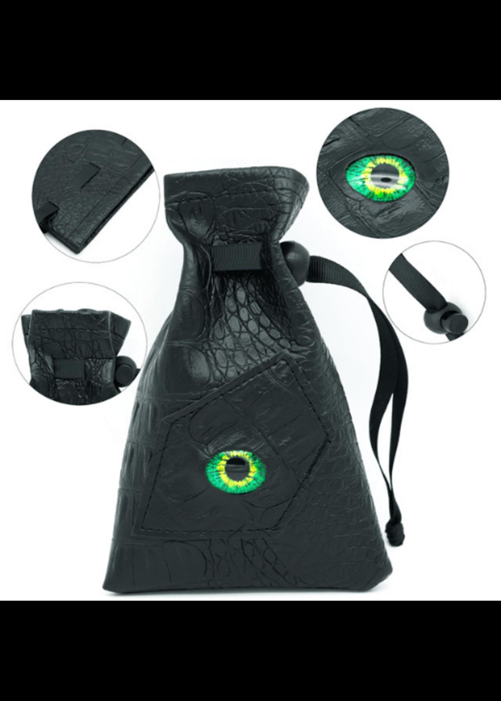 Jade Dragon Eye Bag