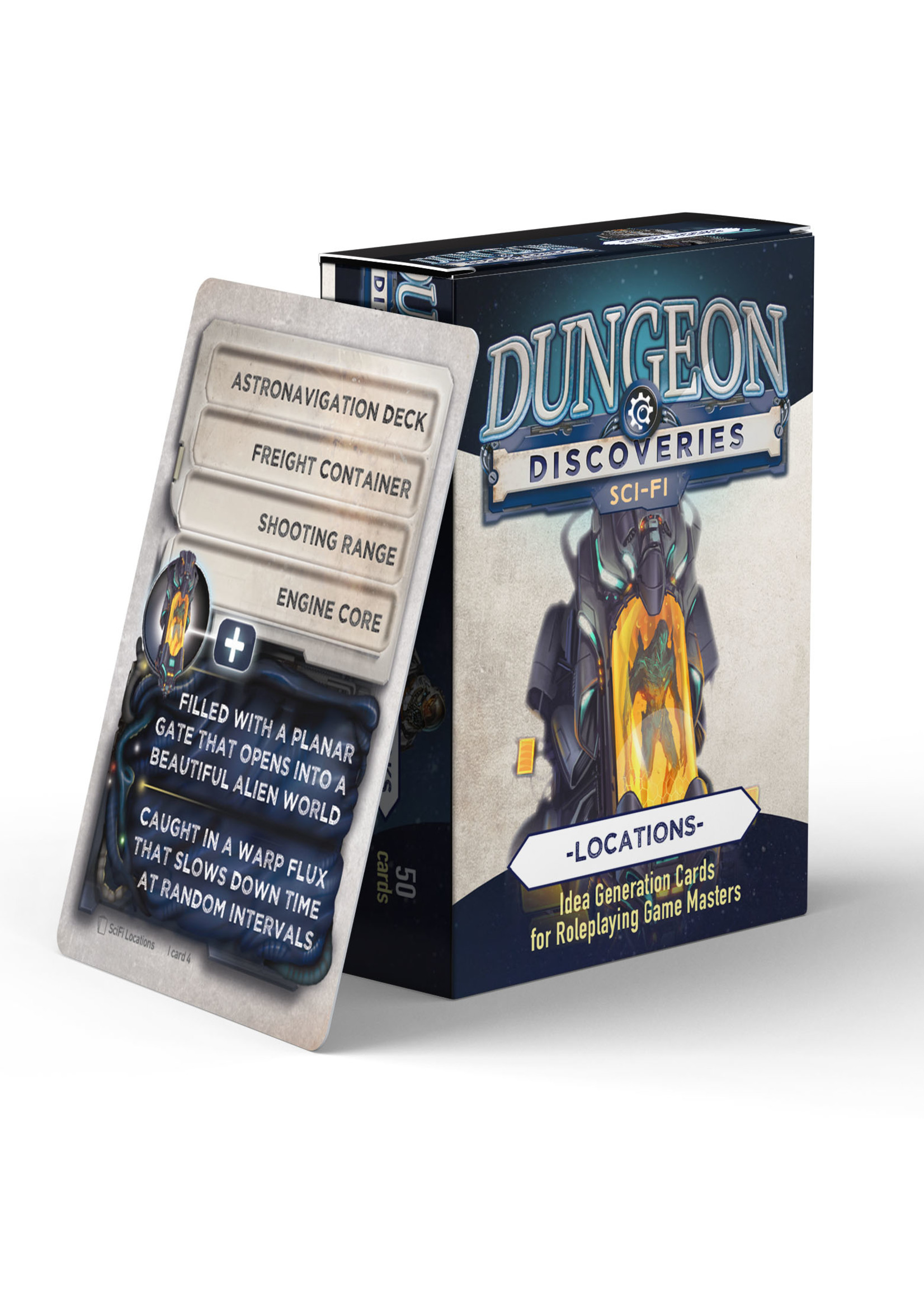 Dungeon Discoveries: Scifi Locations