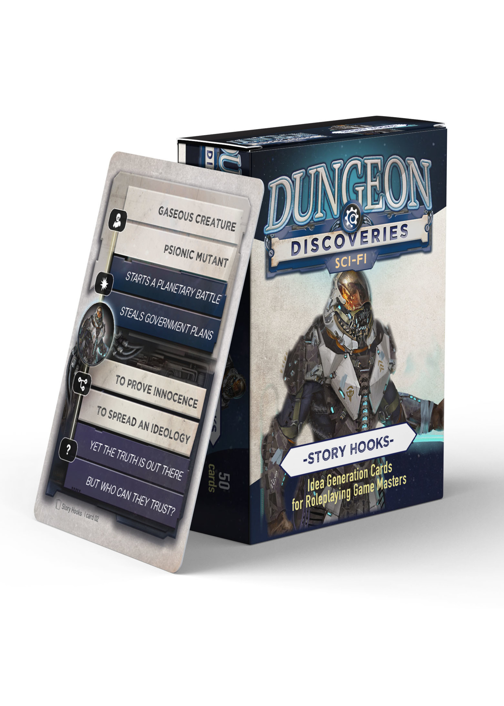 Dungeon Discoveries: Scifi Story Hooks