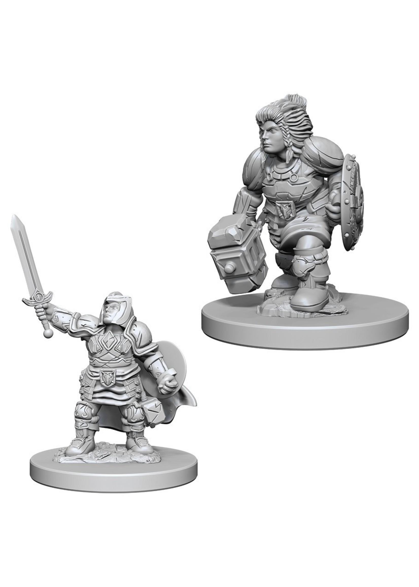 Dungeons & Dragons Nolzur`s Marvelous Unpainted Miniatures: W3 Dwarf Female Paladin