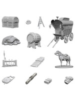 Dungeons & Dragons Nolzur`s Marvelous Unpainted Miniatures: W4 Adventurer`s Campsite
