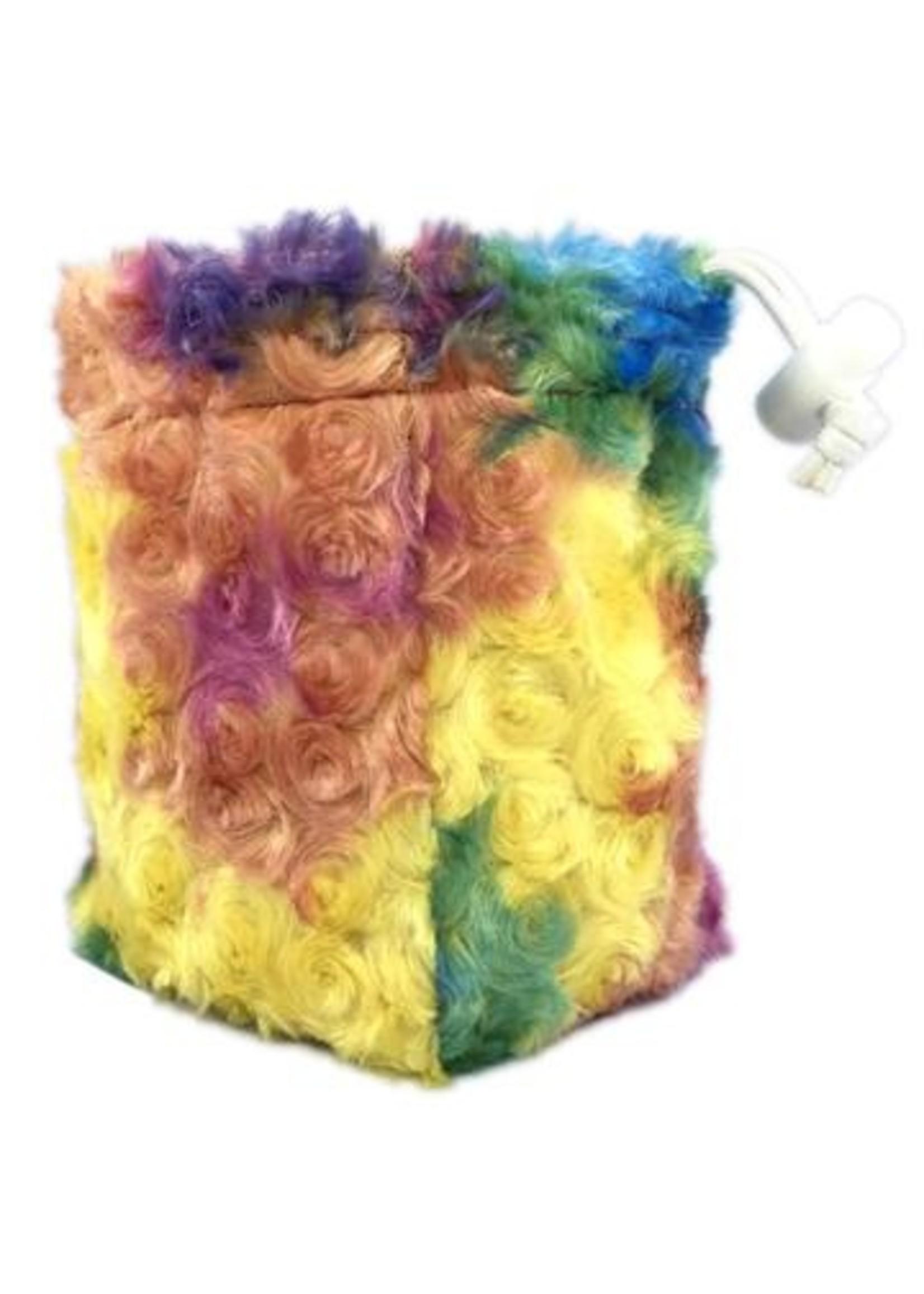 Unicorn Mane Dice Bag: Nebulous Rainbow