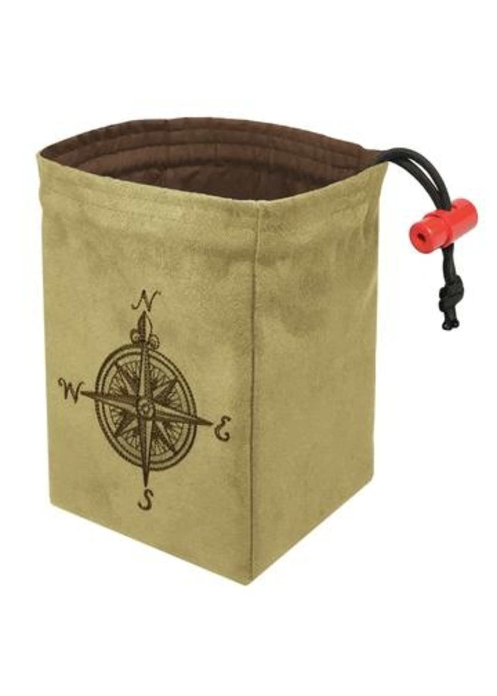 Embroidered Dice Bag: Compass Rose