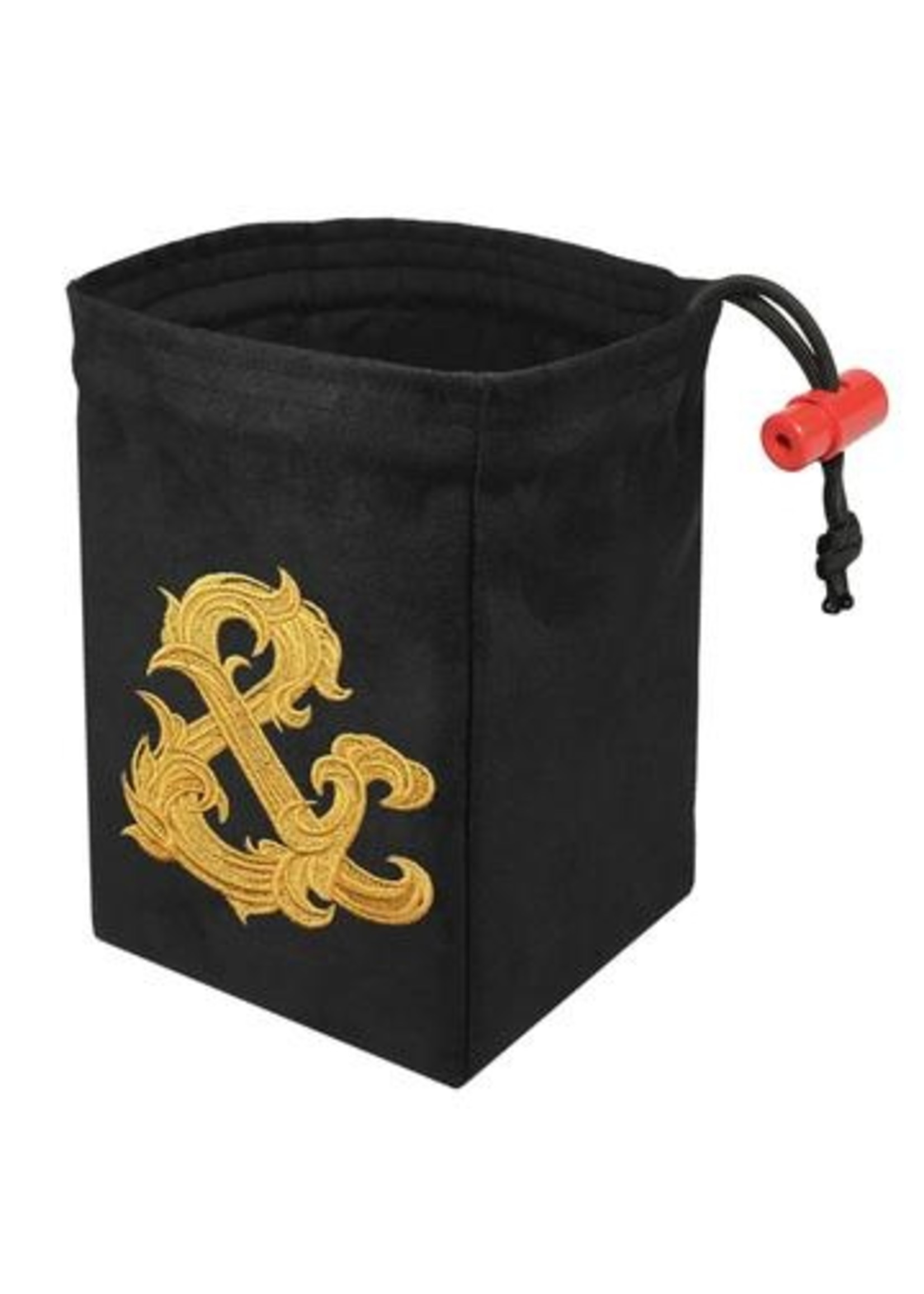 Embroidered Dice Bag: Gilded Ampersand