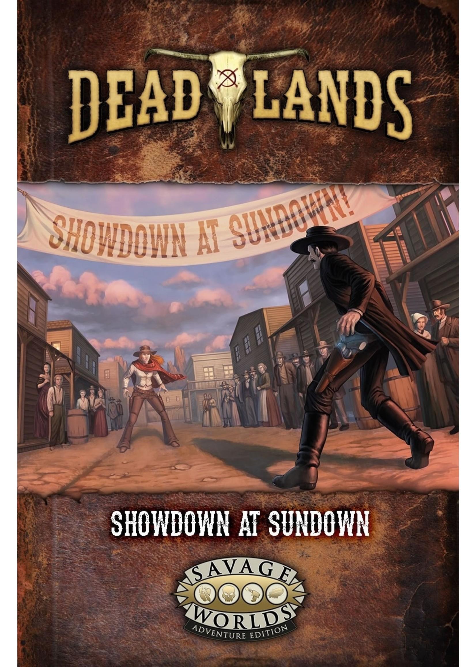 Savage Worlds RPG: Deadlands - The Weird West GM Screen & Adventure