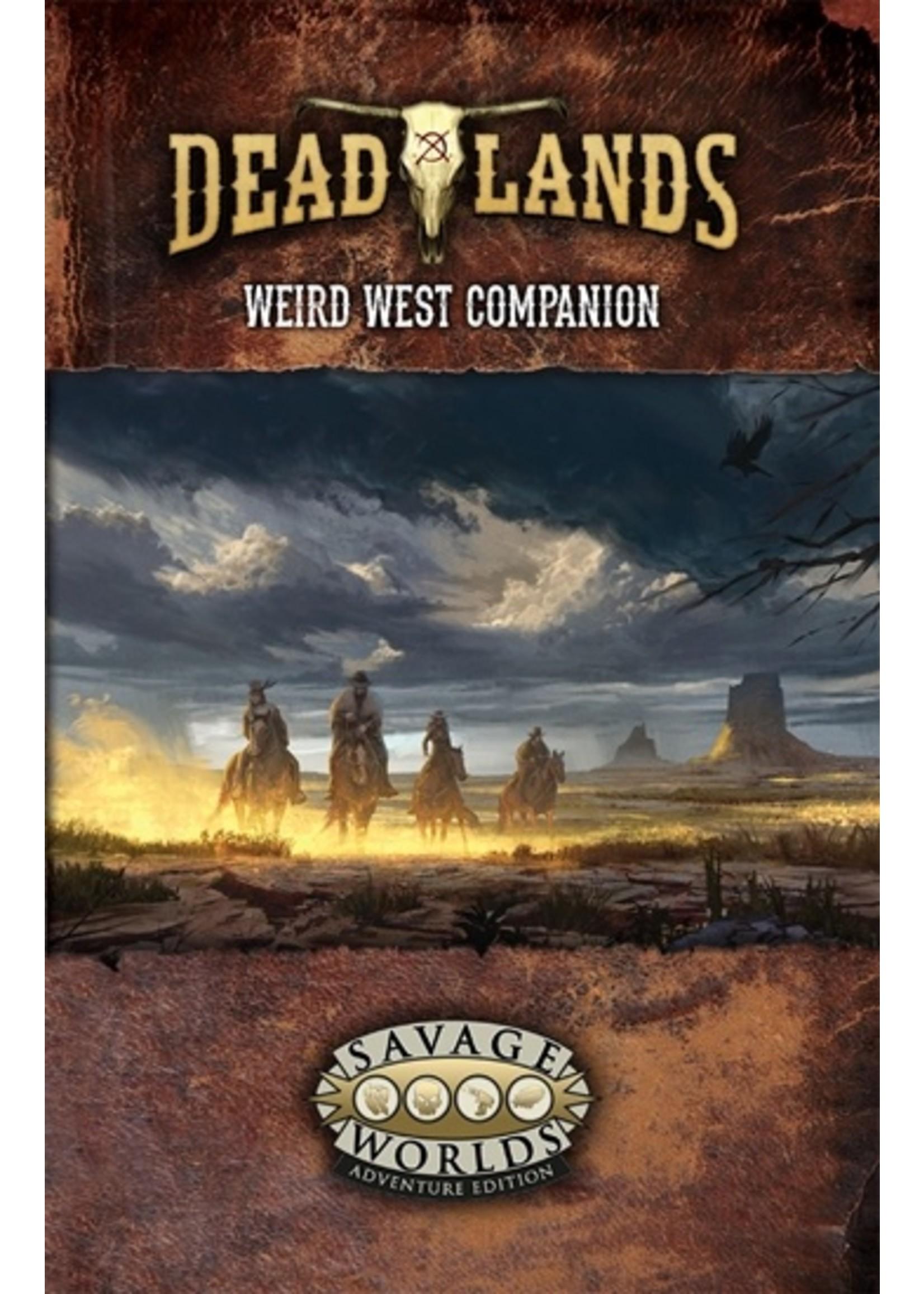 Savage Worlds RPG: Deadlands - The Weird West Companion