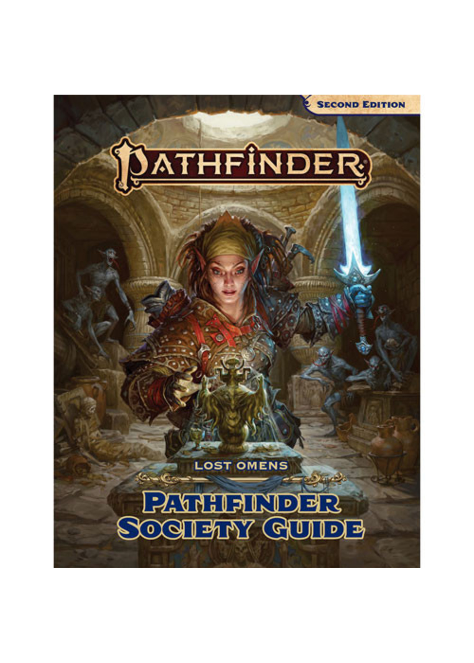Pathfinder RPG: Lost Omens - Pathfinder Society Guide Hardcover (P2)