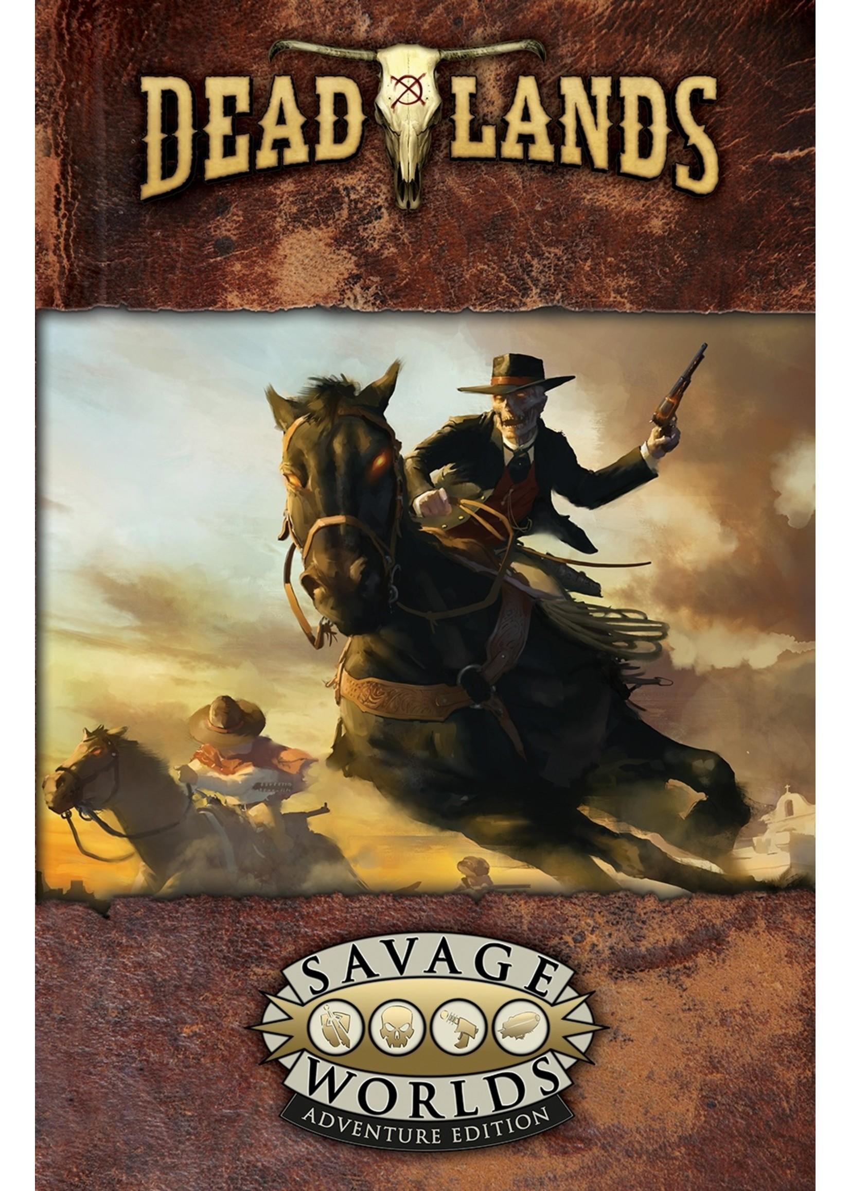 Savage Worlds RPG: Deadlands - The Weird West Core Rulebook
