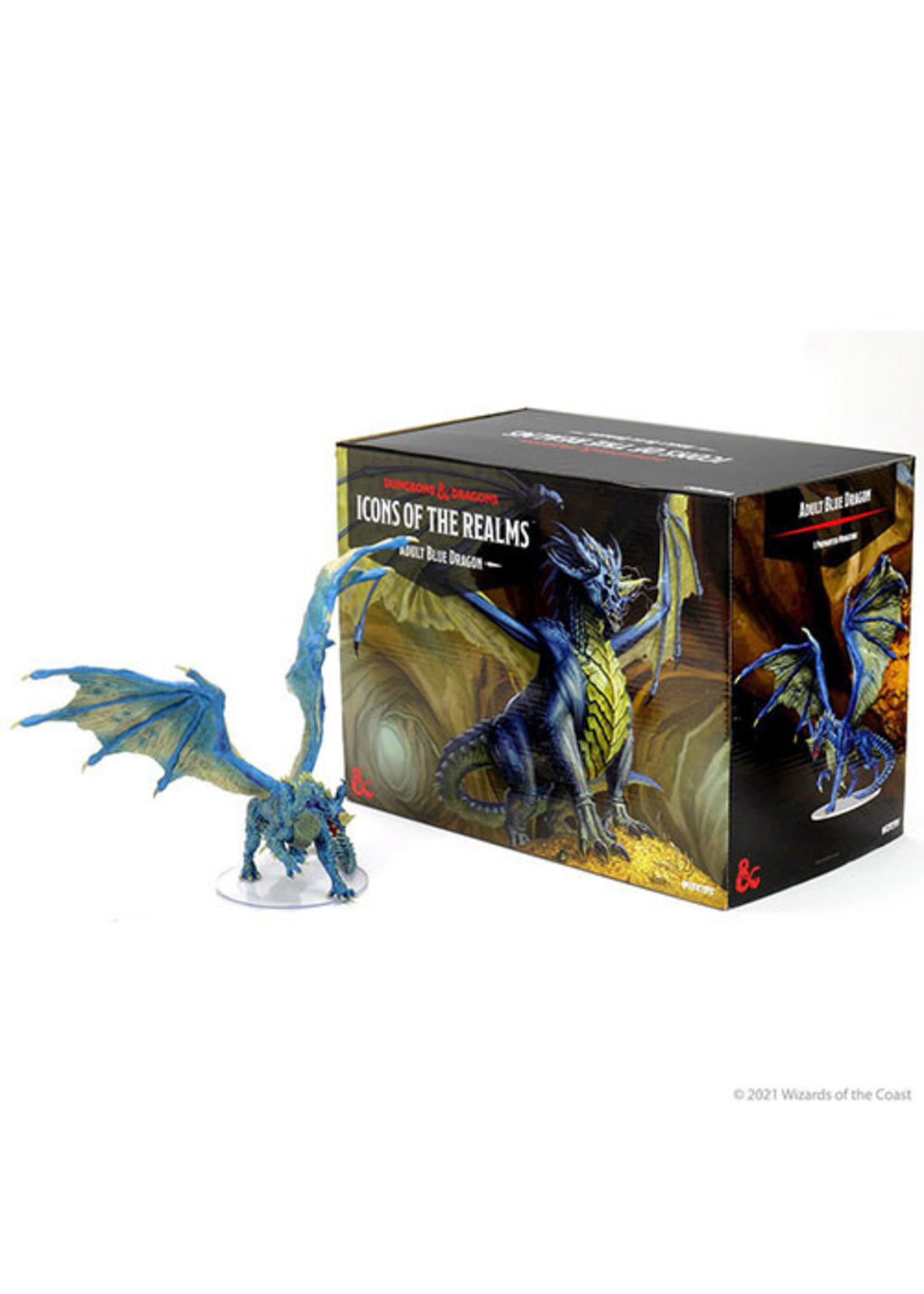 Dungeons & Dragons Fantasy Miniatures: Icons of the Realms - Adult Blue Dragon Premium