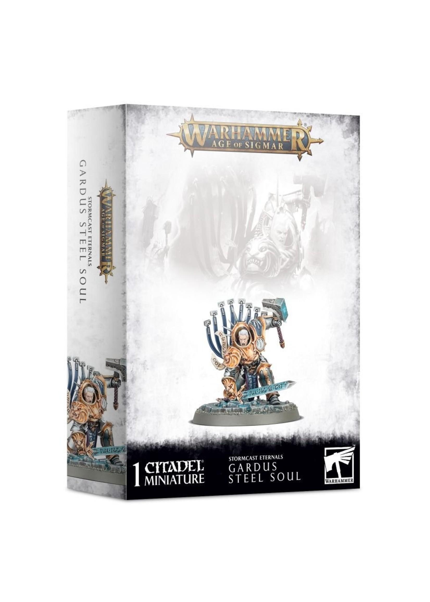 Warhammer Age of Sigmar: Stormcast Eternals - Gardus Steel Soul