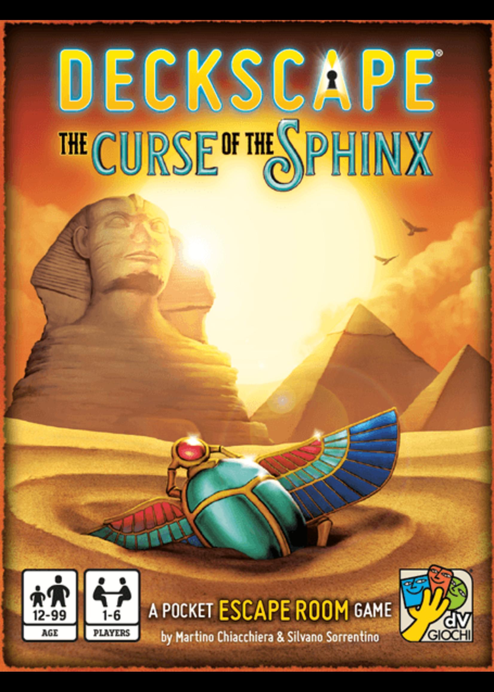 Deckscape: The Curse of the Sphinx