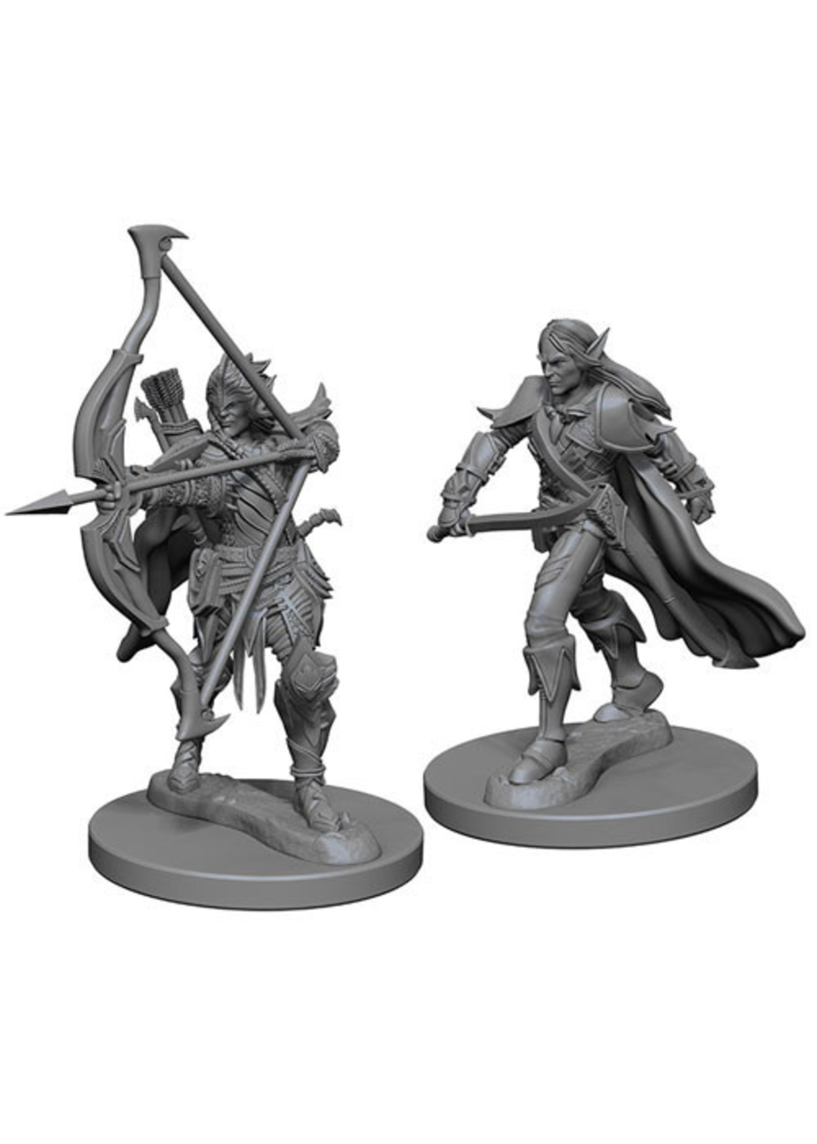 Pathfinder Deep Cuts Unpainted Miniatures: W6 Male Elf Fighter