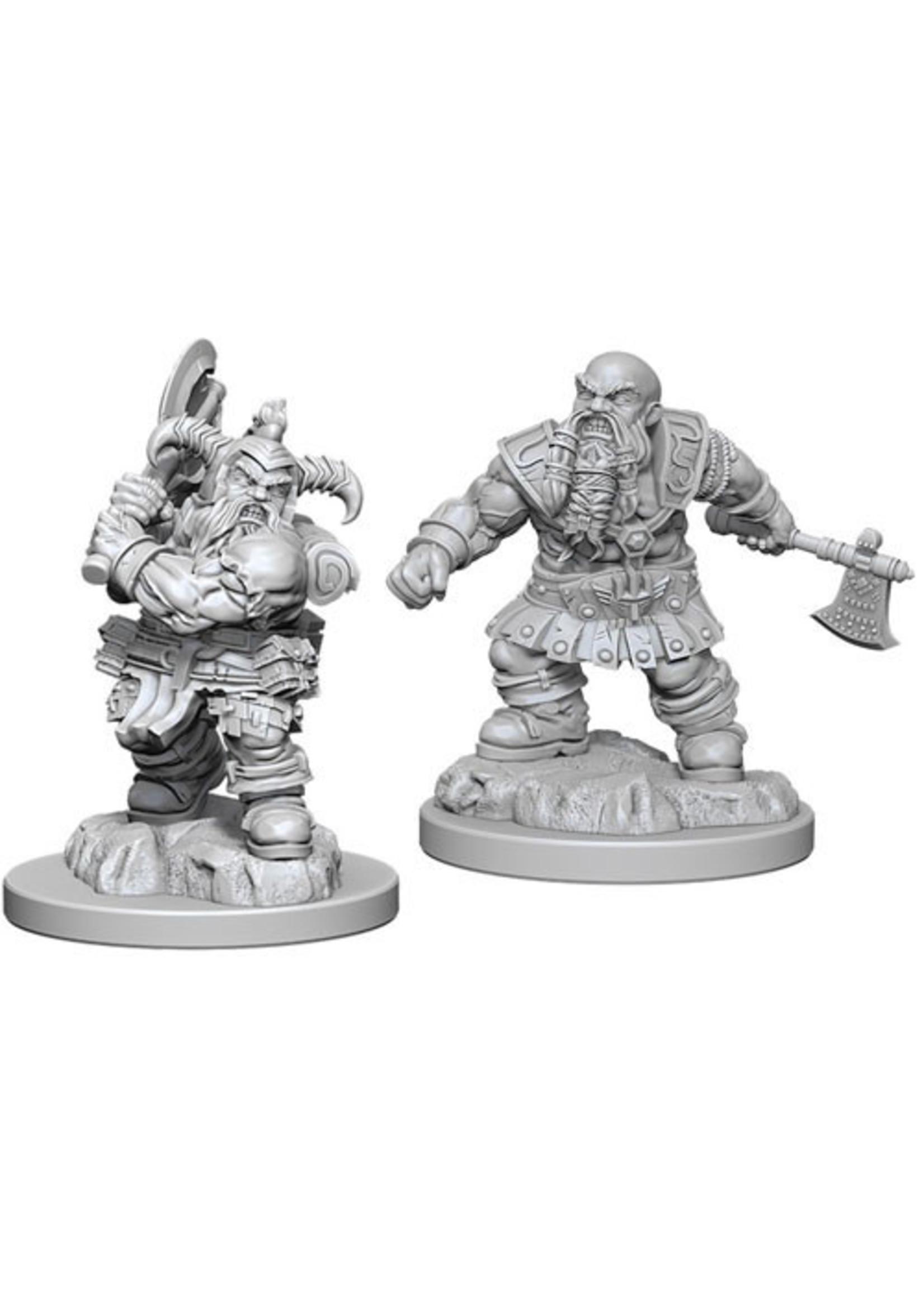 Dungeons & Dragons Nolzur`s Marvelous Unpainted Miniatures: W6 Dwarf Male Barbarian
