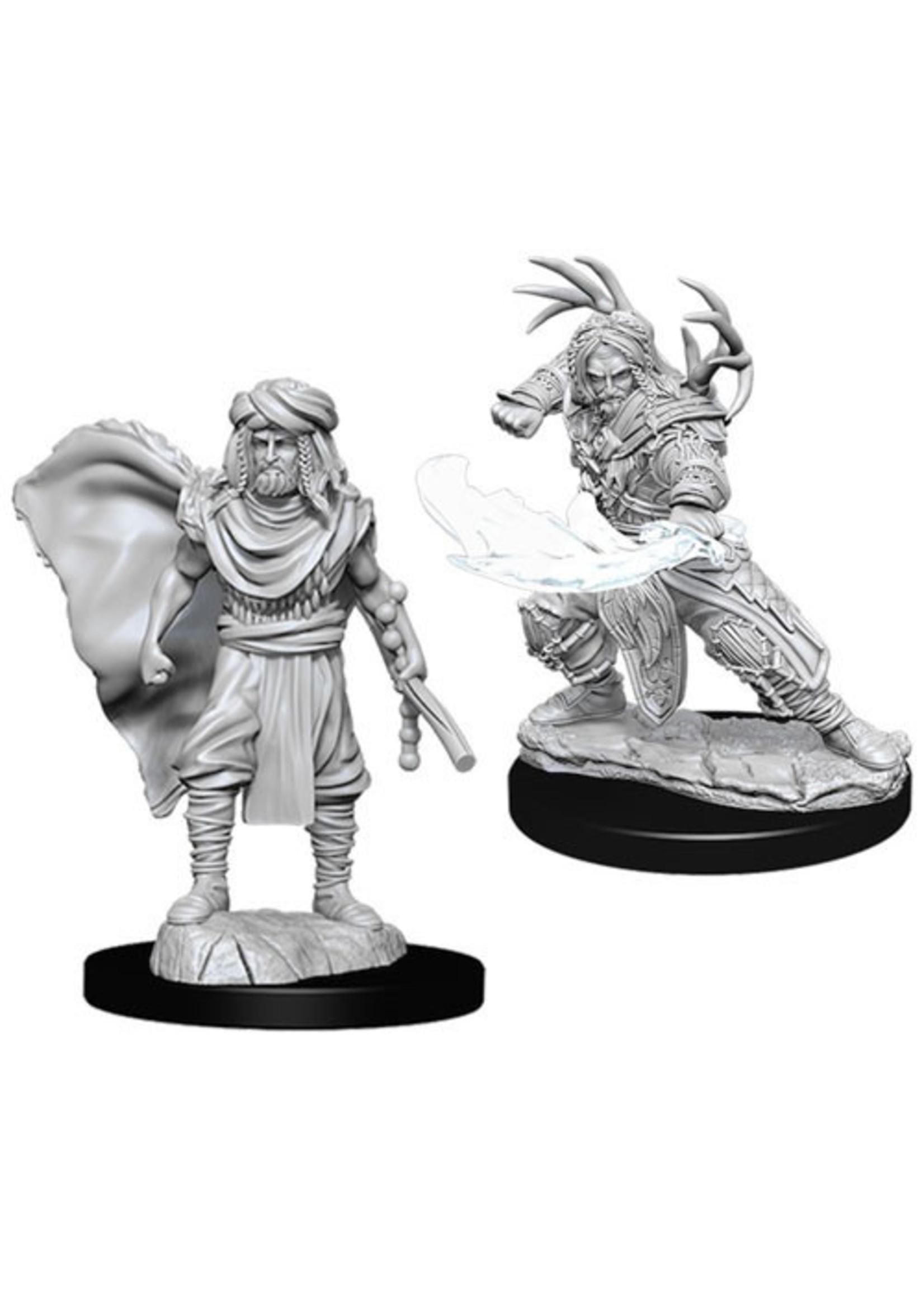 Dungeons & Dragons Nolzur`s Marvelous Unpainted Miniatures: W6 Male Human Druid
