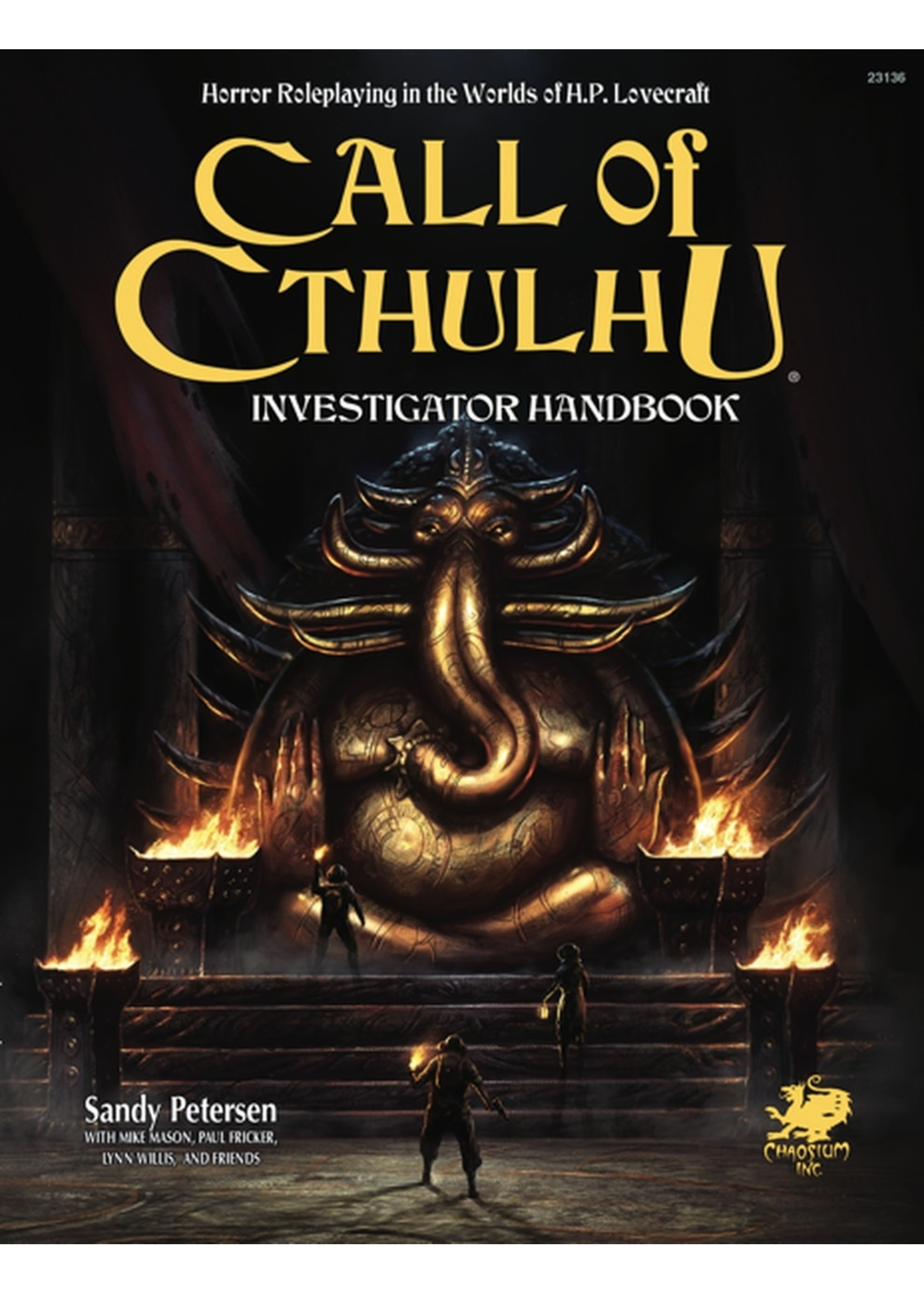 Call of Cthulhu: 7th Edition Investigator Handbook