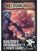 Necromunda: Badzones Environments & Events Cards