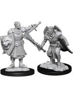 Pathfinder Deep Cuts Unpainted Miniatures: W14 Human Champion Male