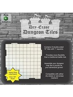 Dry Erase Dungeon Tiles - Pack of Nine 10` Interlocking Tiles