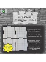 Dry Erase Dungeon Tiles - Pack of Thirty Six 5` Interlocking Tiles