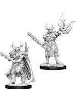 Pathfinder Deep Cuts Unpainted Miniatures: W10 Male Half-Orc Druid